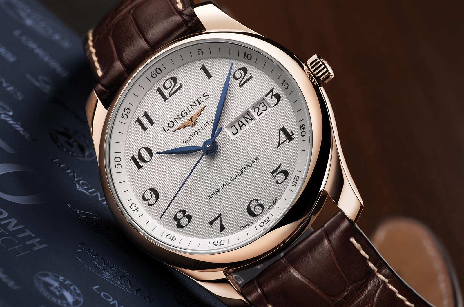 Longines 50 Millionth Watch - Annual Calendar 3