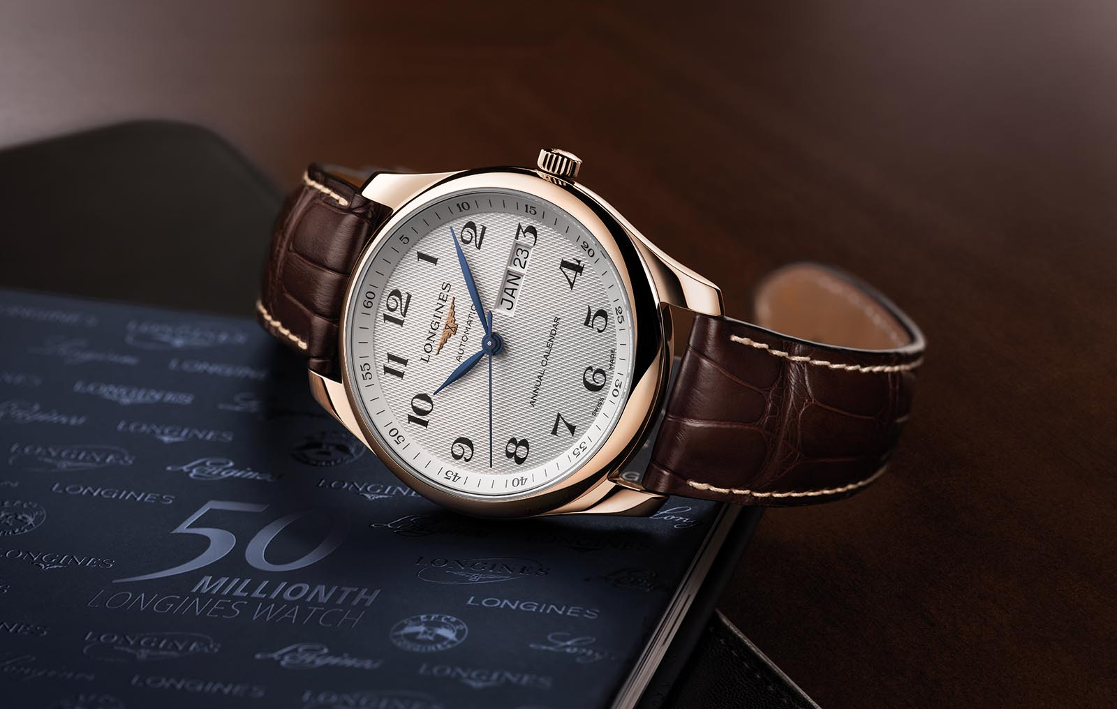 Longines 50 Millionth Watch - Annual Calendar