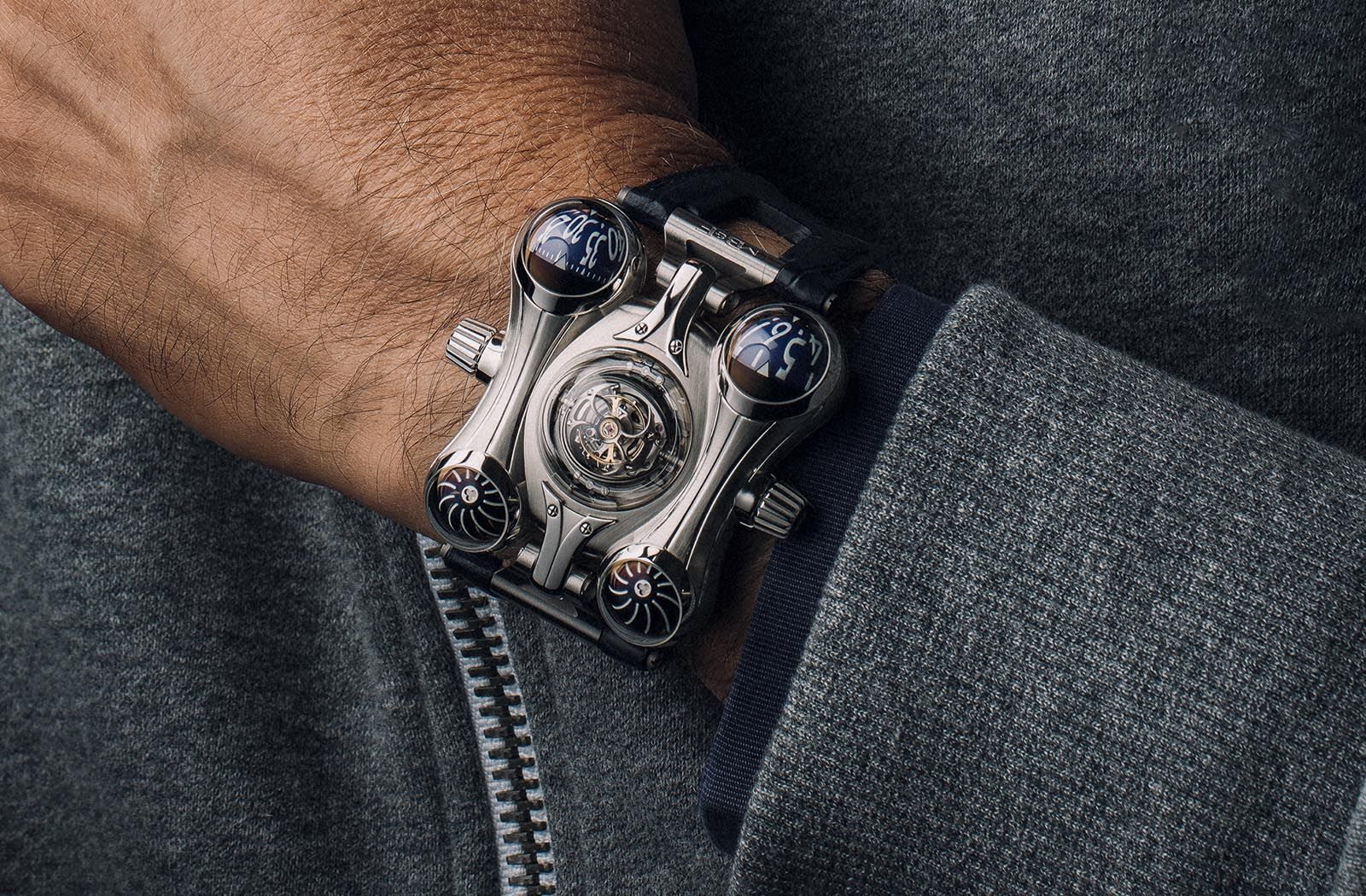 MB&F HM6 Final Edition Steel
