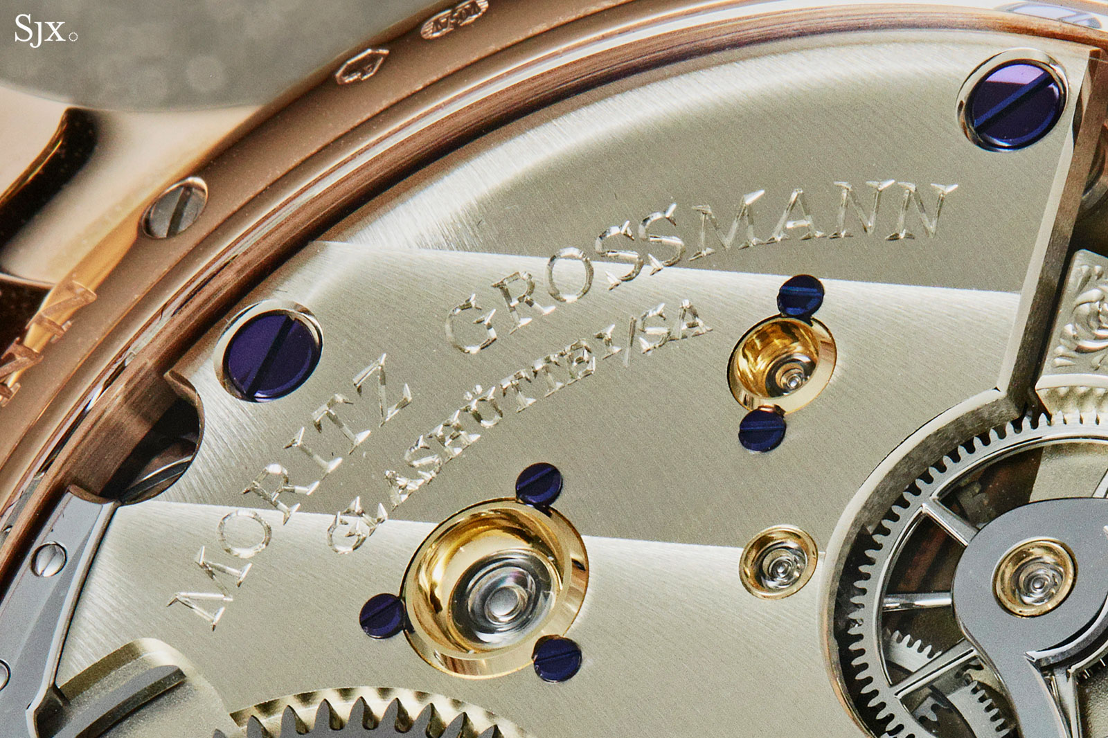 Moritz Grossmann Benu tourbillon movement 2