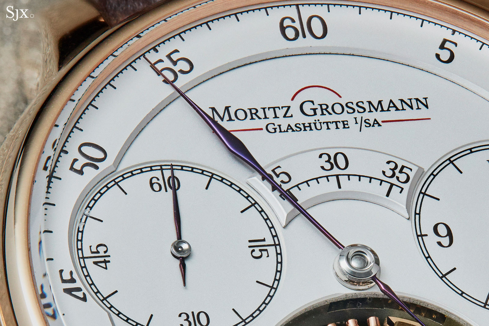 Moritz Grossmann Benu tourbillon rose gold 3