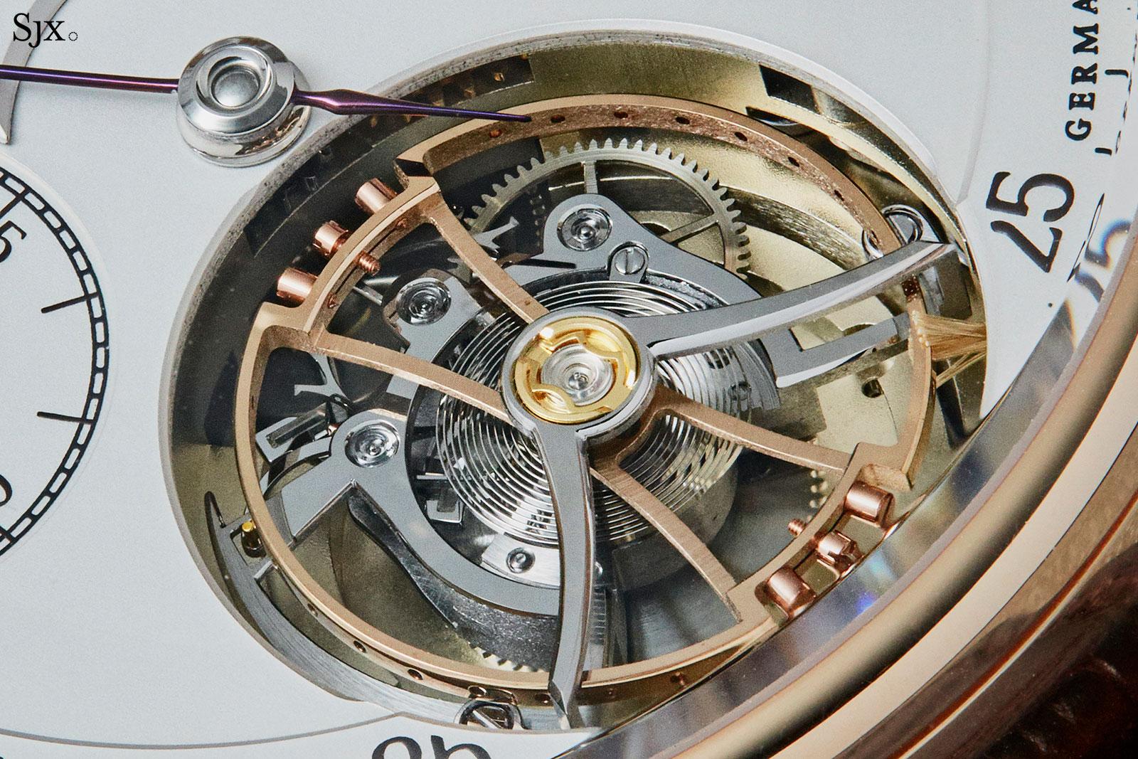Moritz Grossmann Benu tourbillon rose gold 4