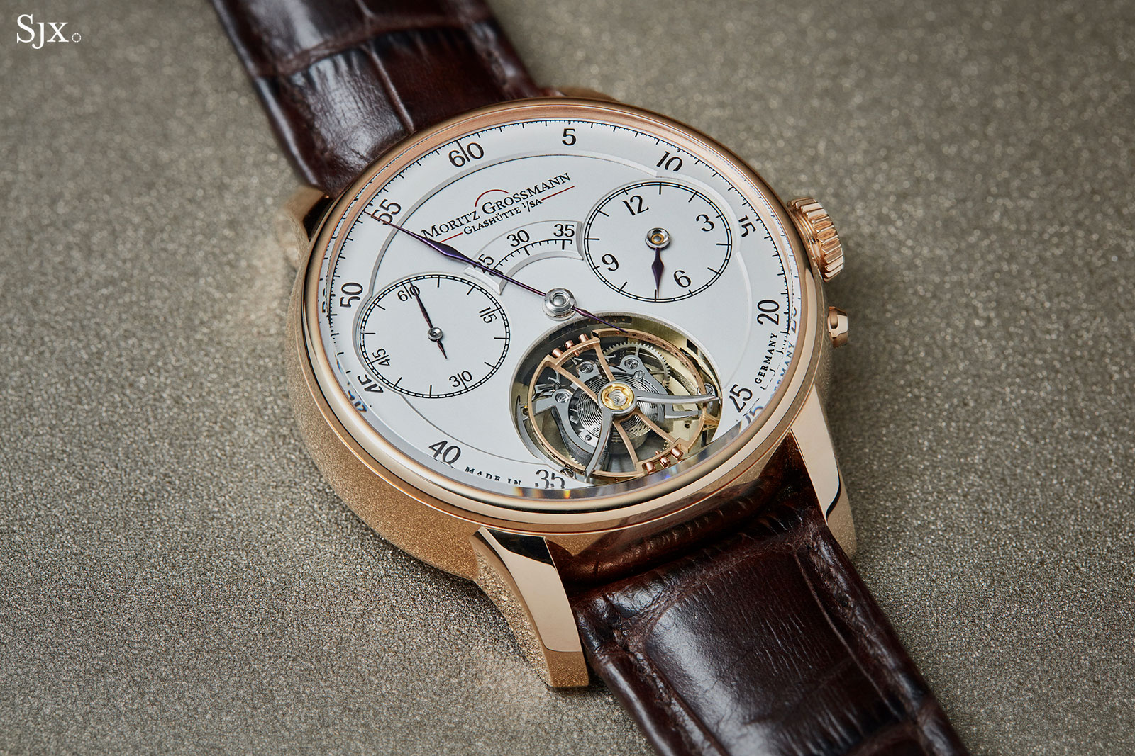 Moritz Grossmann Benu tourbillon rose gold 5