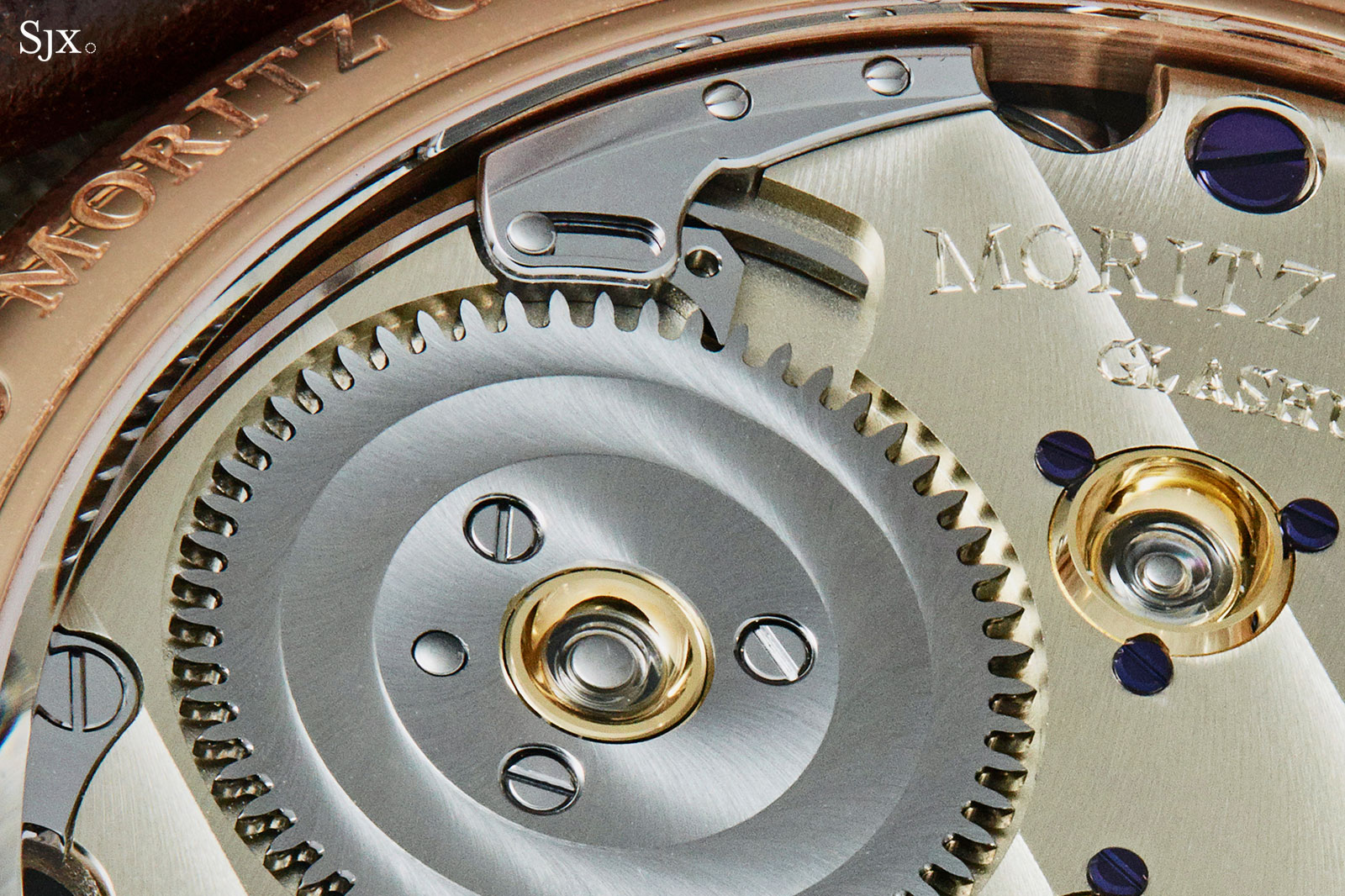 Moritz Grossmann Benu tourbillon rose gold 6