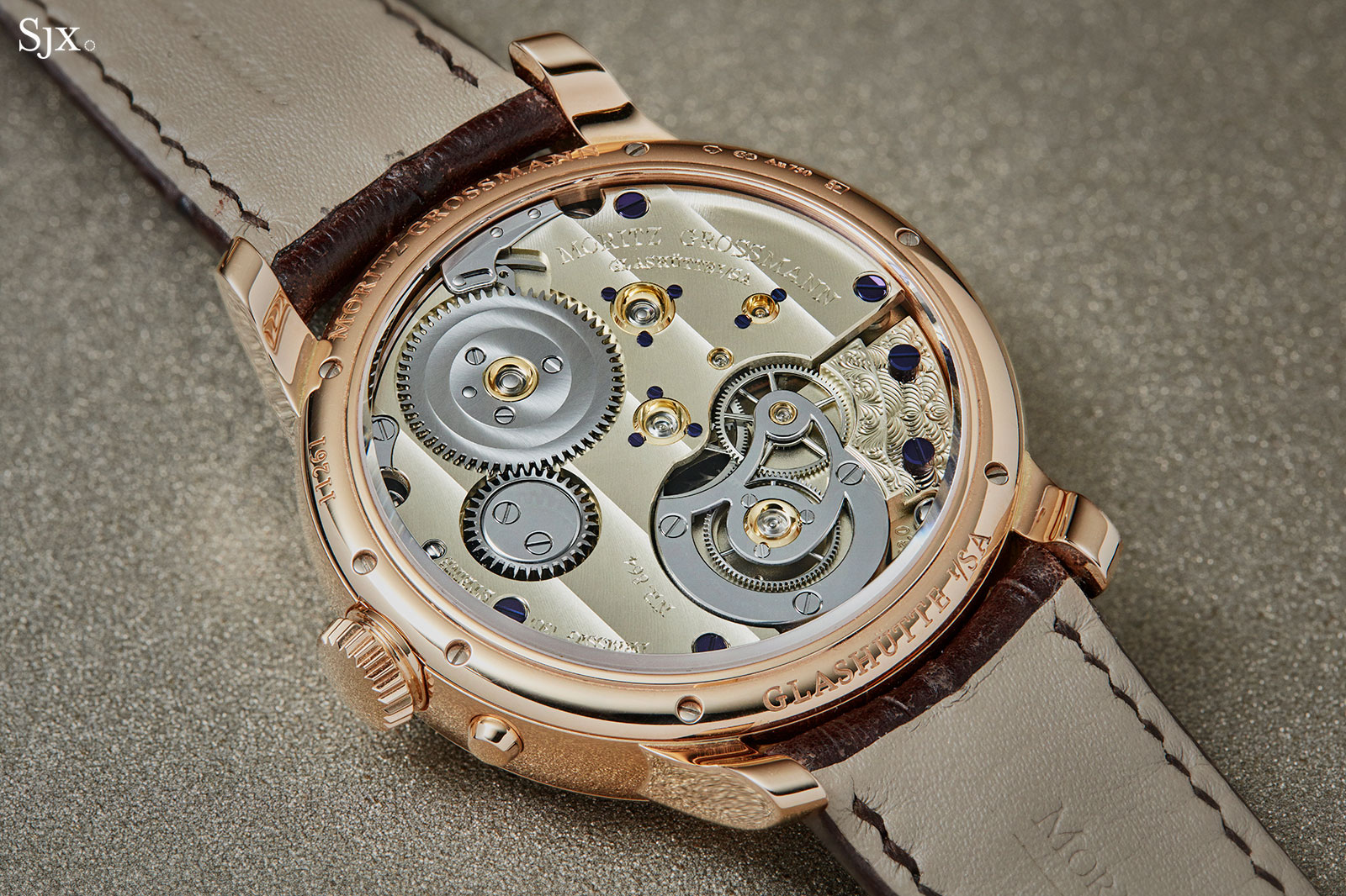 Moritz Grossmann Benu tourbillon rose gold 8