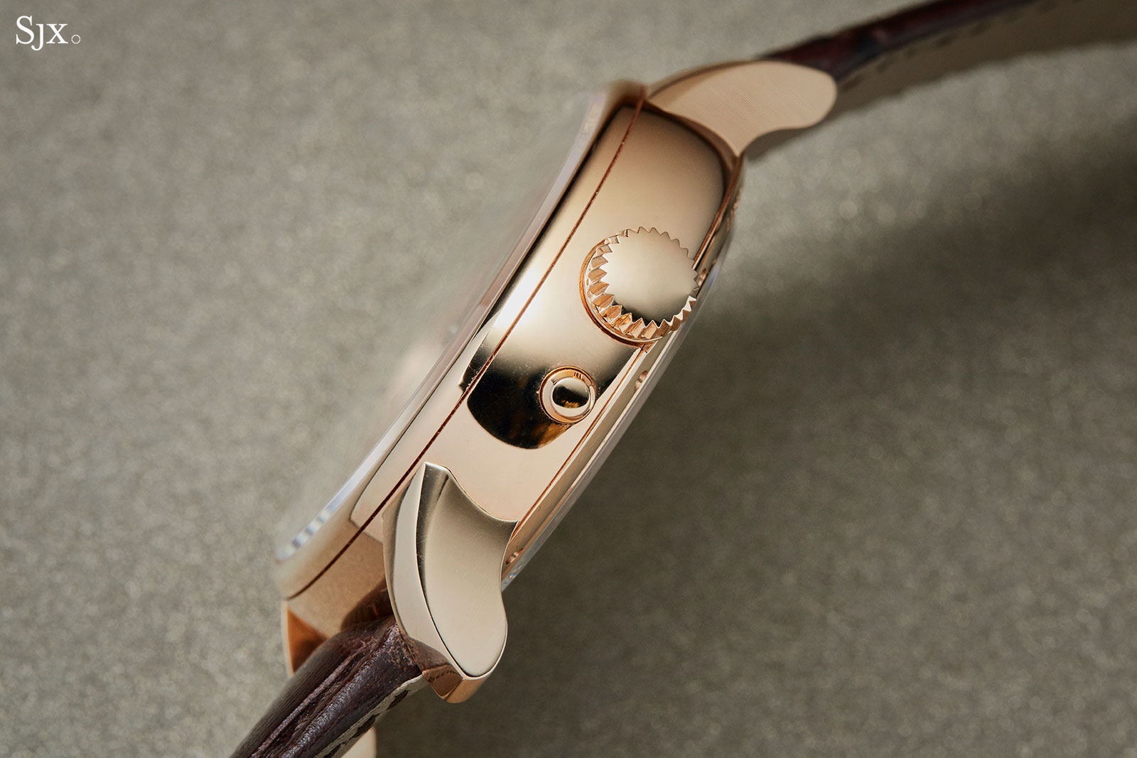 Moritz Grossmann Benu tourbillon rose gold 9