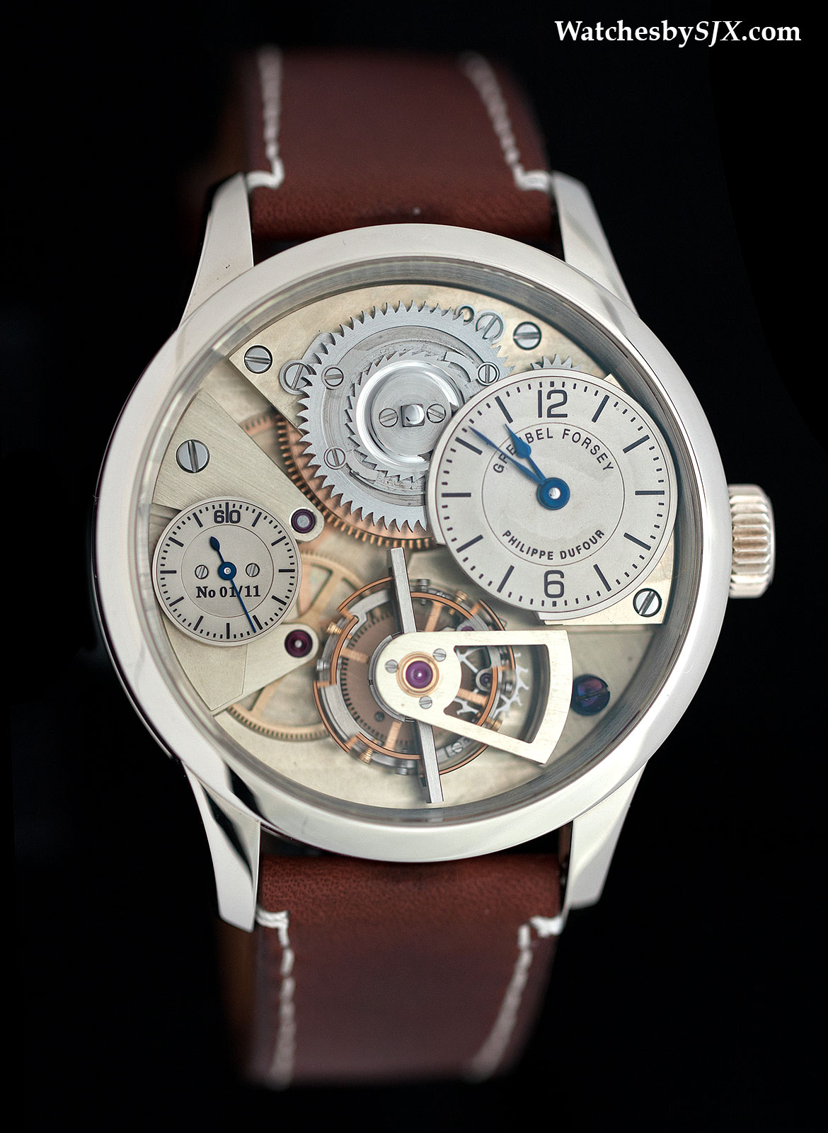 """The """"Montre École"""" prototype, sold at Christies for close to 1.5 million USD."""