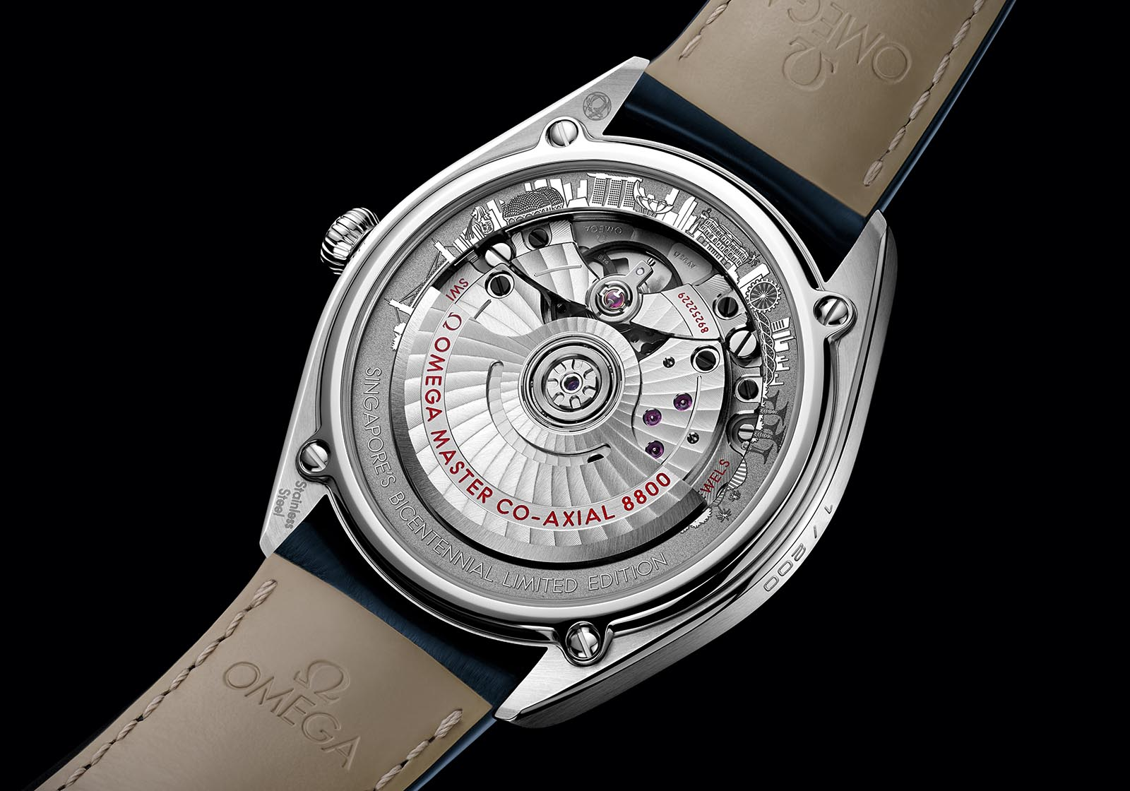 Omega Seamaster Boutique Exclusive Singapore Limited Edition 2