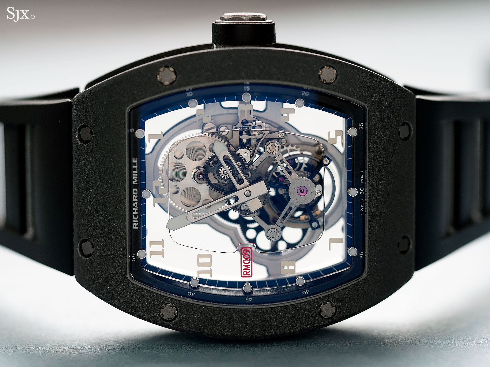 Richard Mille RM009 Alusic tourbillon 13