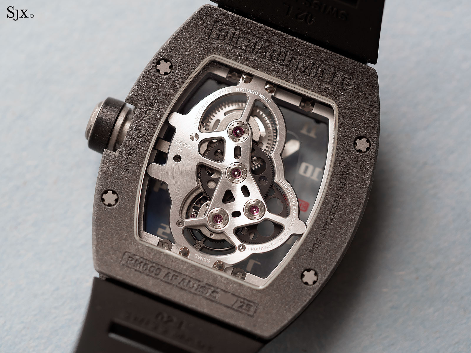 Richard Mille RM009 Alusic tourbillon 7