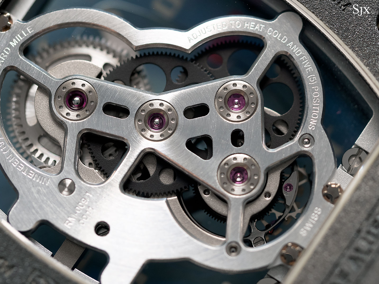 Richard Mille RM009 Alusic tourbillon 8