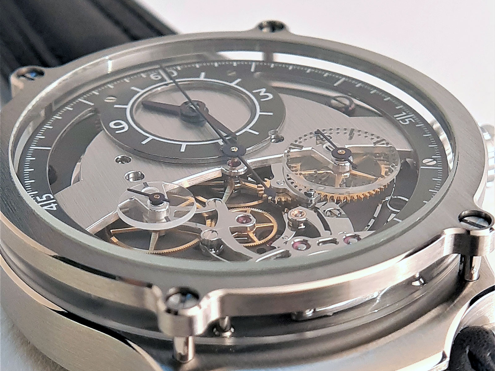 Sylvain Pinaud chronograph watch 1
