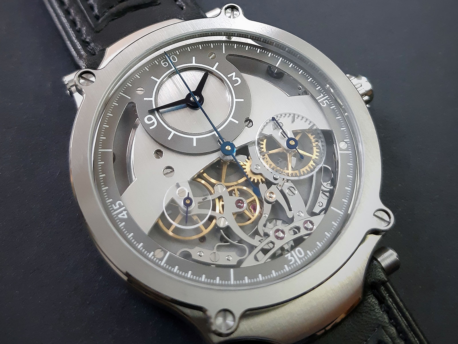 Sylvain Pinaud chronograph watch 2