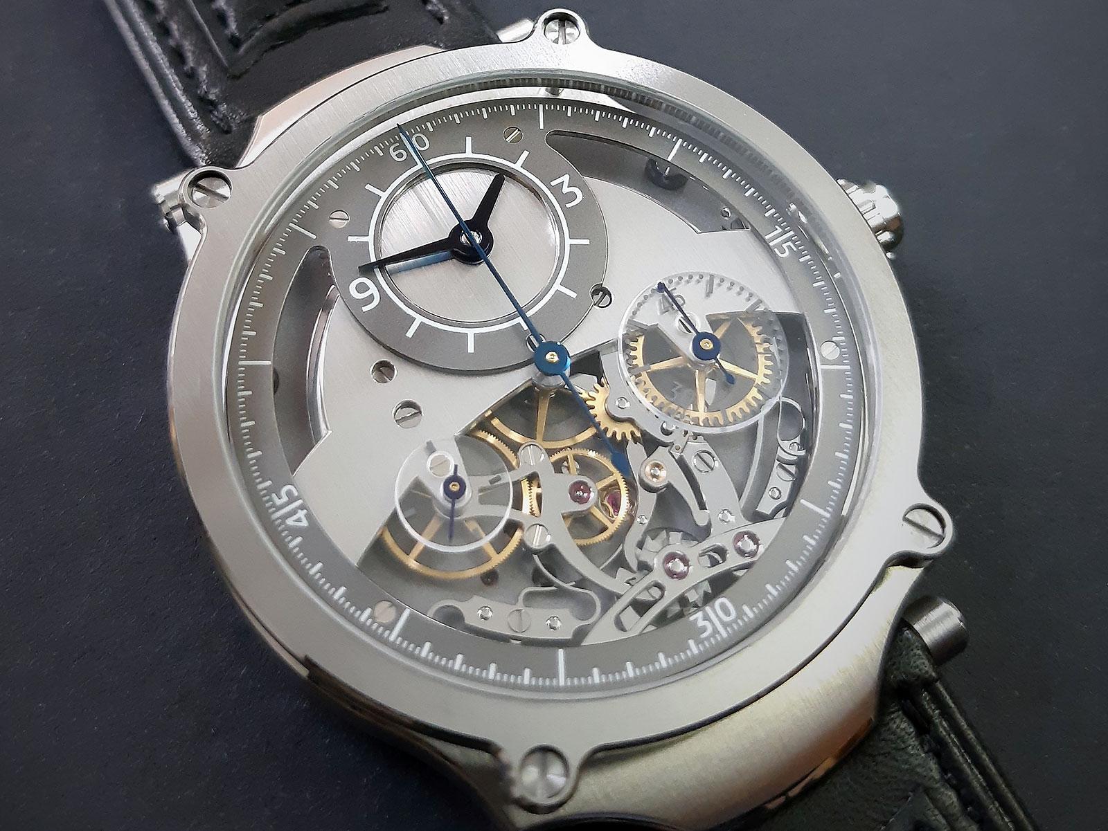 Sylvain Pinaud chronograph watch 2