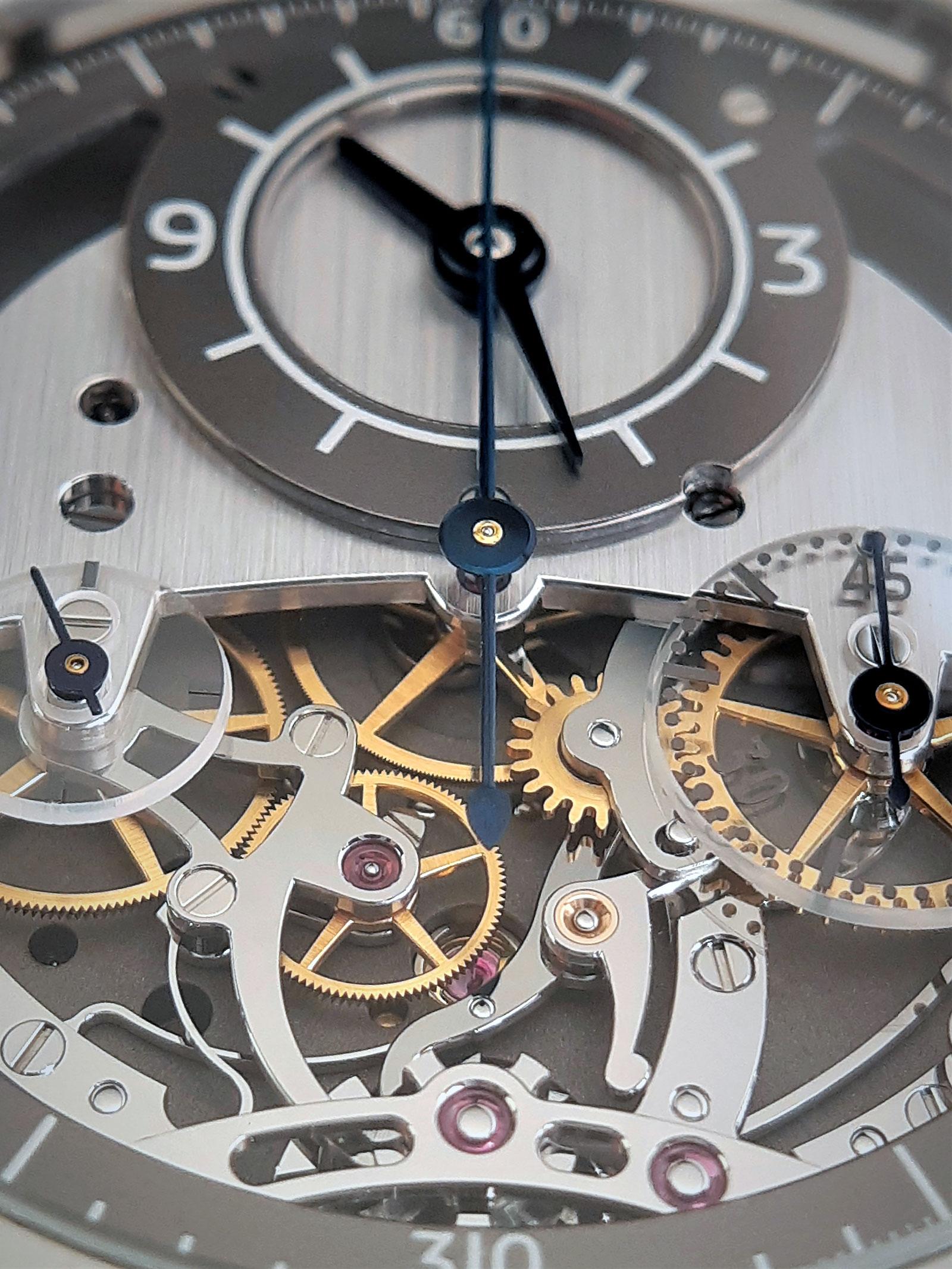 Sylvain Pinaud chronograph watch 5