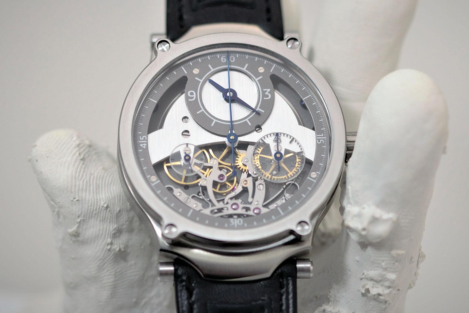 Sylvain Pinaud chronograph watch 6