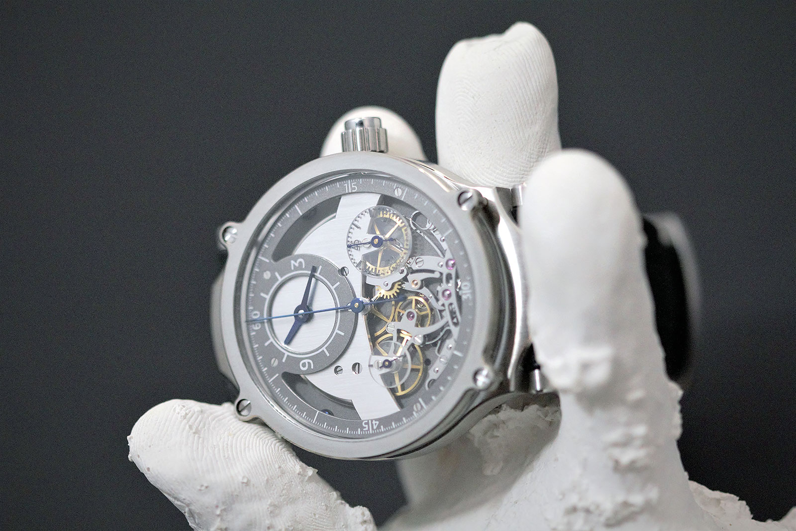 Sylvain Pinaud chronograph watch 7