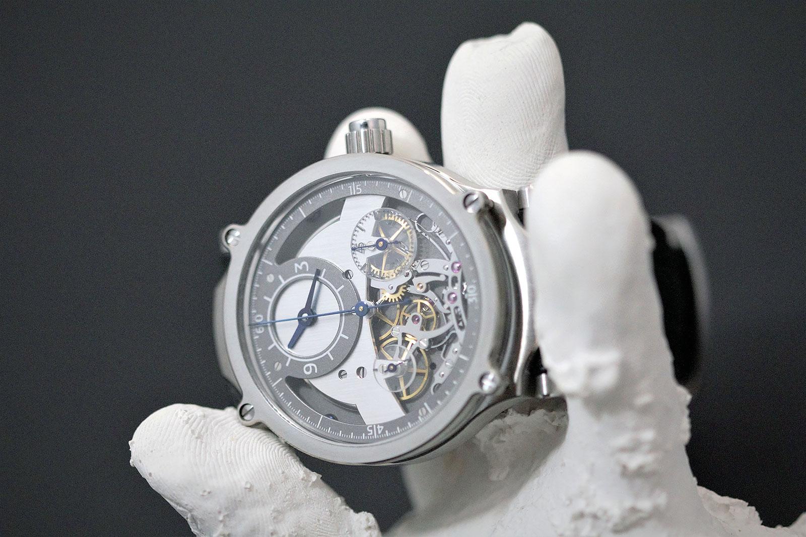 Sylvain Pinaud chronograph watch 7