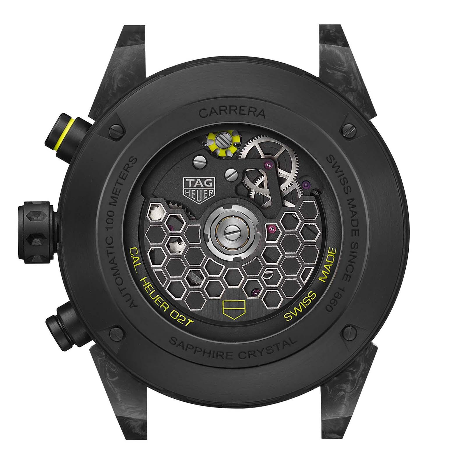 TAG Heuer Carrera Calibre Heuer 02T Tourbillon Nanograph 2