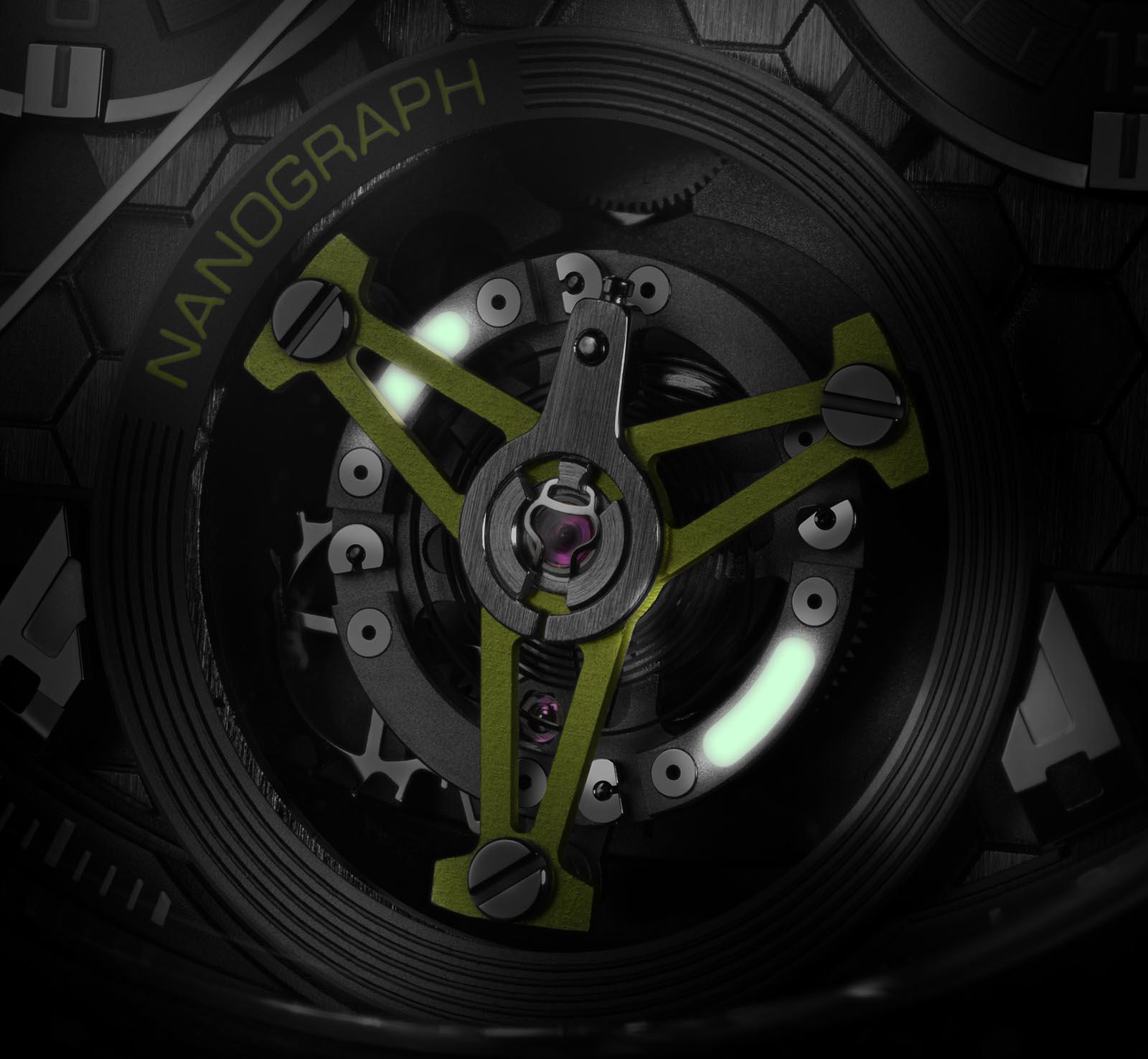 TAG Heuer Carrera Calibre Heuer 02T Tourbillon Nanograph 5
