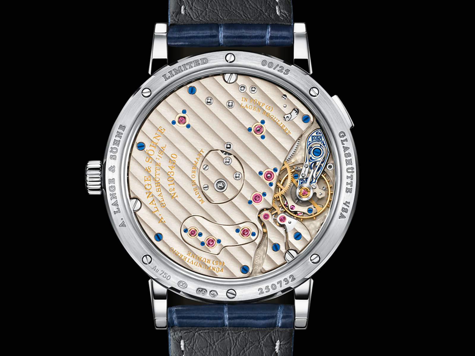 "A. Lange & Söhne Grand Lange 1 Moon Phase ""25th Anniversary"" 3"