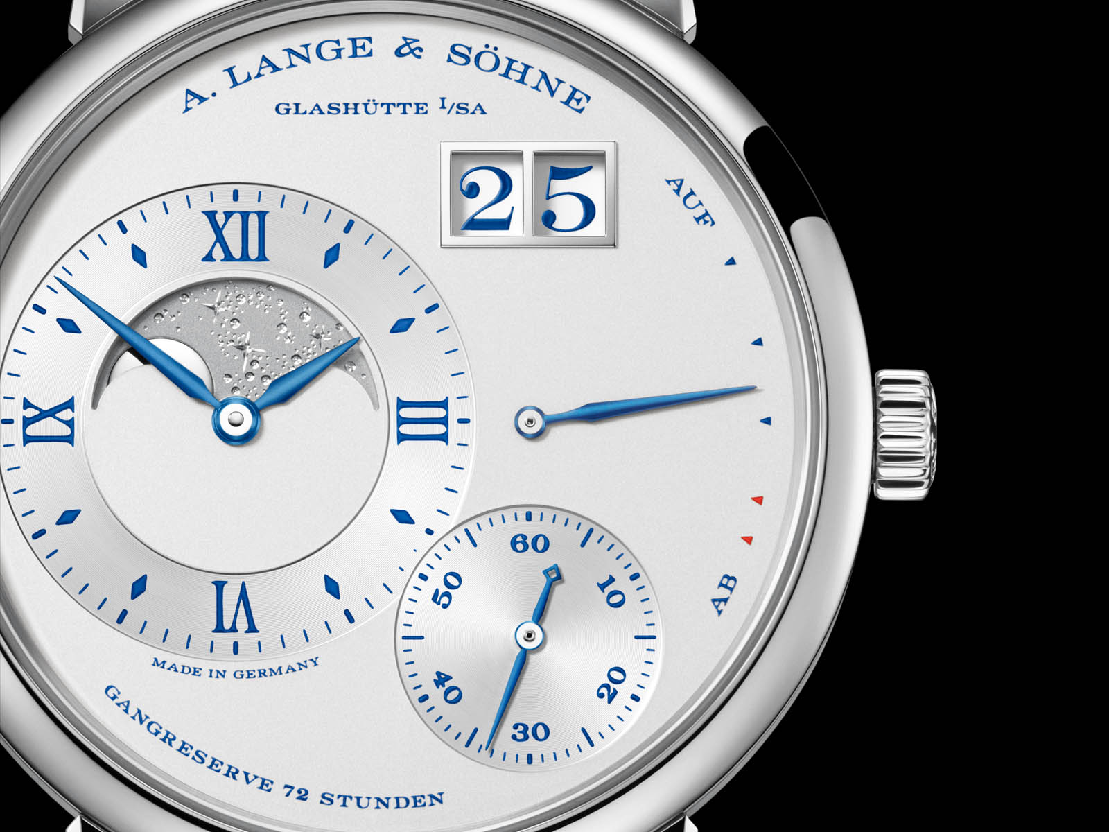 "A. Lange & Söhne Grand Lange 1 Moon Phase ""25th Anniversary"" 6"