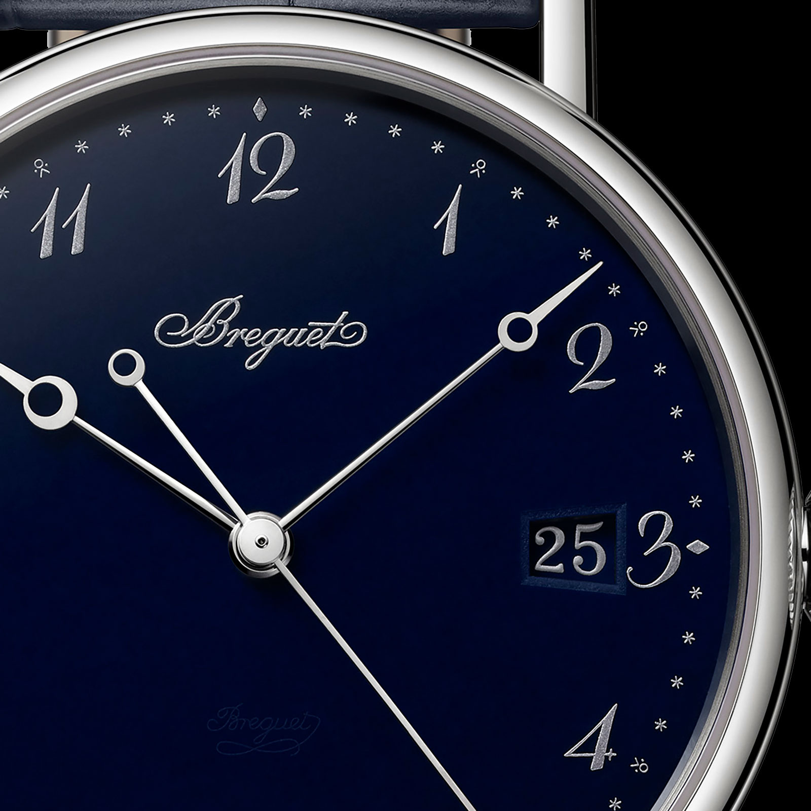 Breguet Classique 5177 blue enamel 1