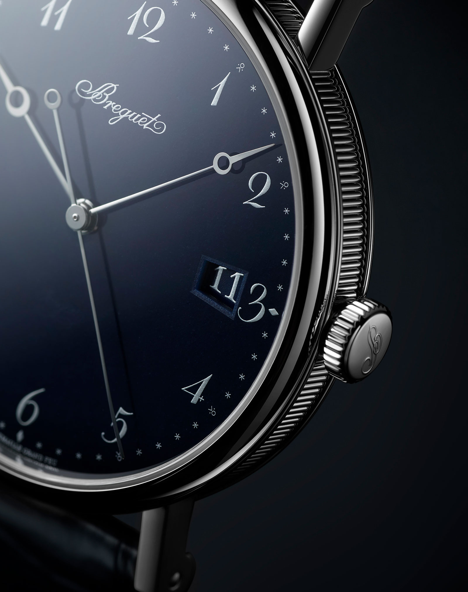 Breguet Classique 5177 blue enamel 2