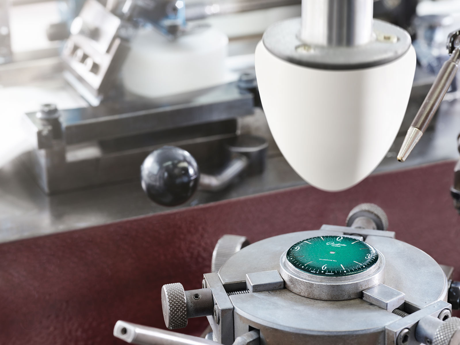 Glashutte Original Sixties dial making of 5