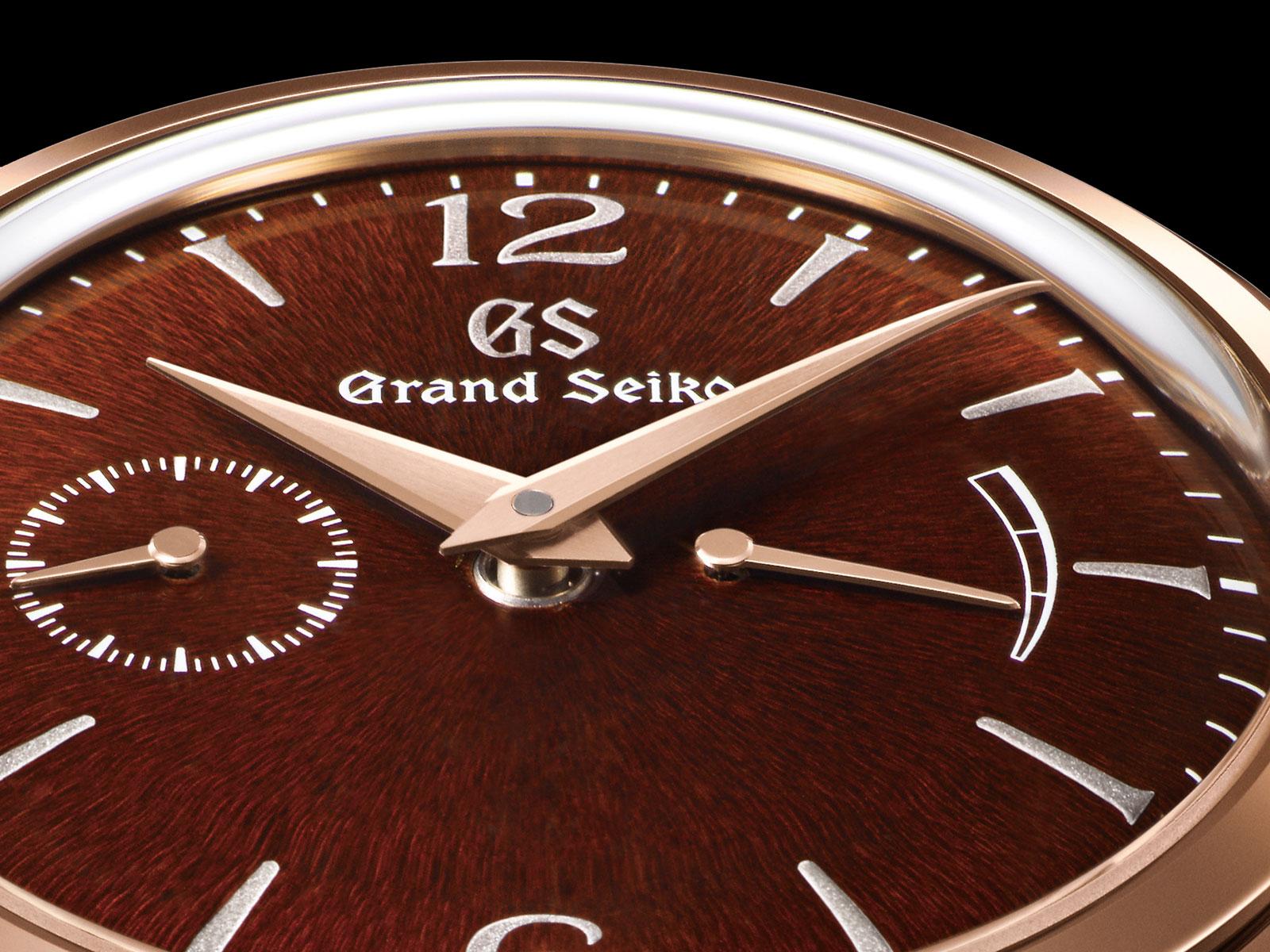 Grand Seiko Elegance Collection urushi dial