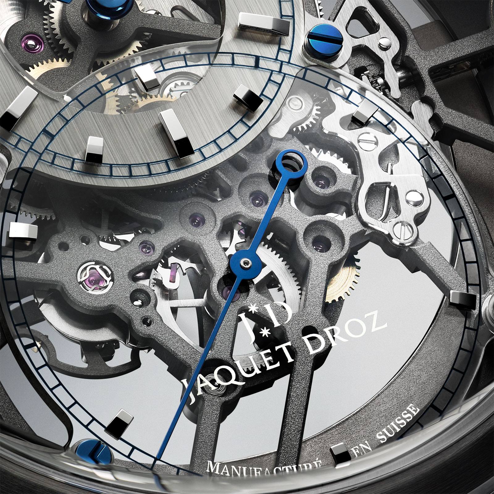 Jaquet Droz Grande Seconde Skelet-One Ceramic 1