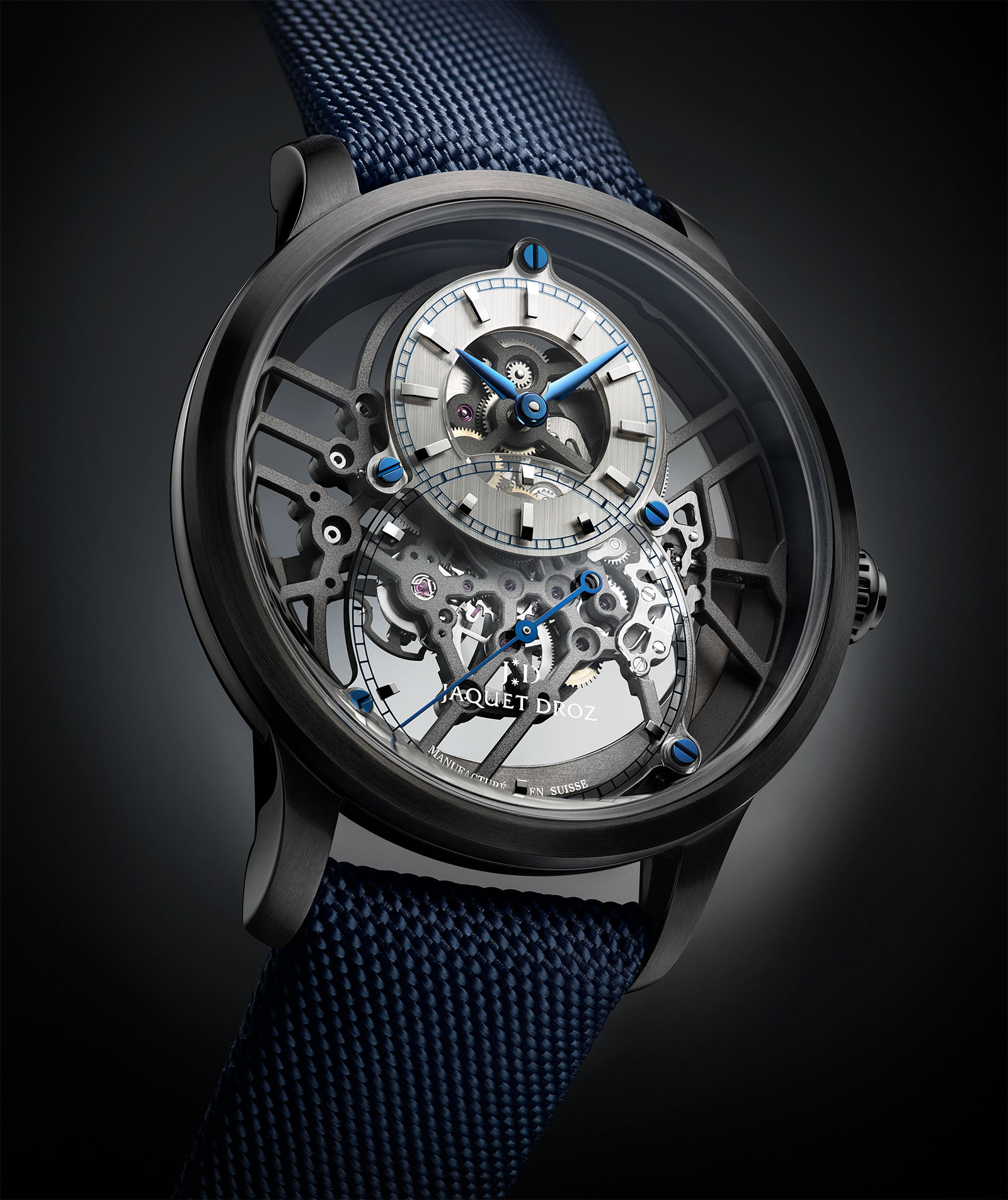 Jaquet Droz Grande Seconde Skelet-One Ceramic 2