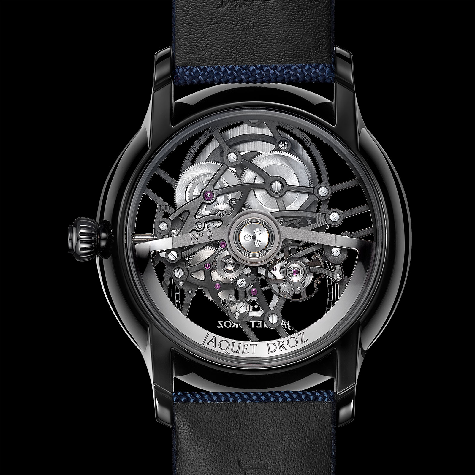 Jaquet Droz Grande Seconde Skelet-One Ceramic 4