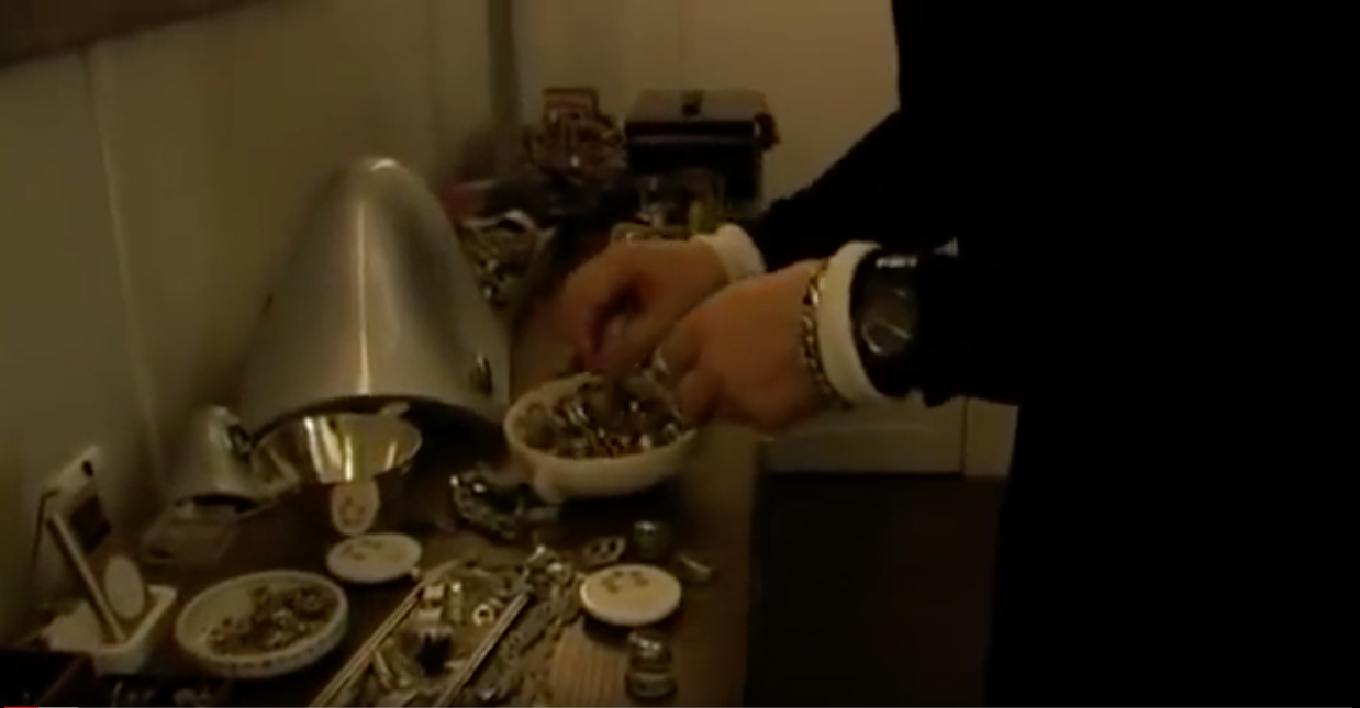 Karl Lagerfeld black Royal Oak screen shot
