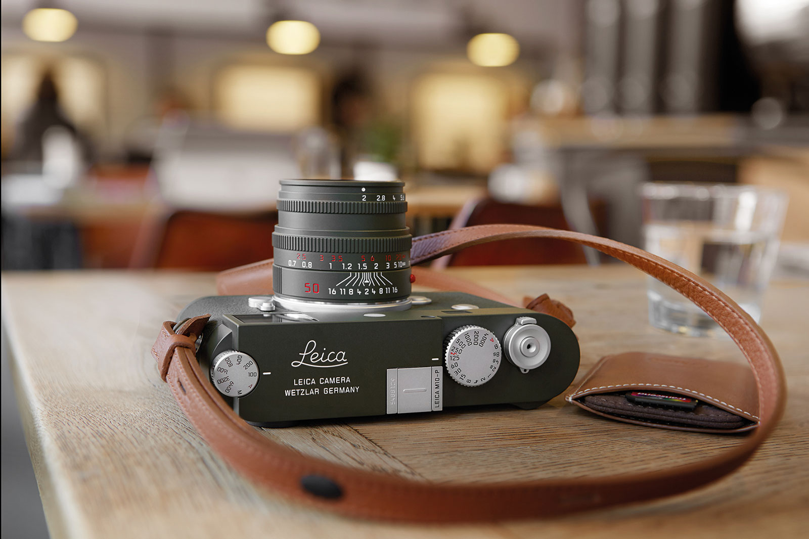 Leica Introduces The M10 P Safari In Olive Green Sjx