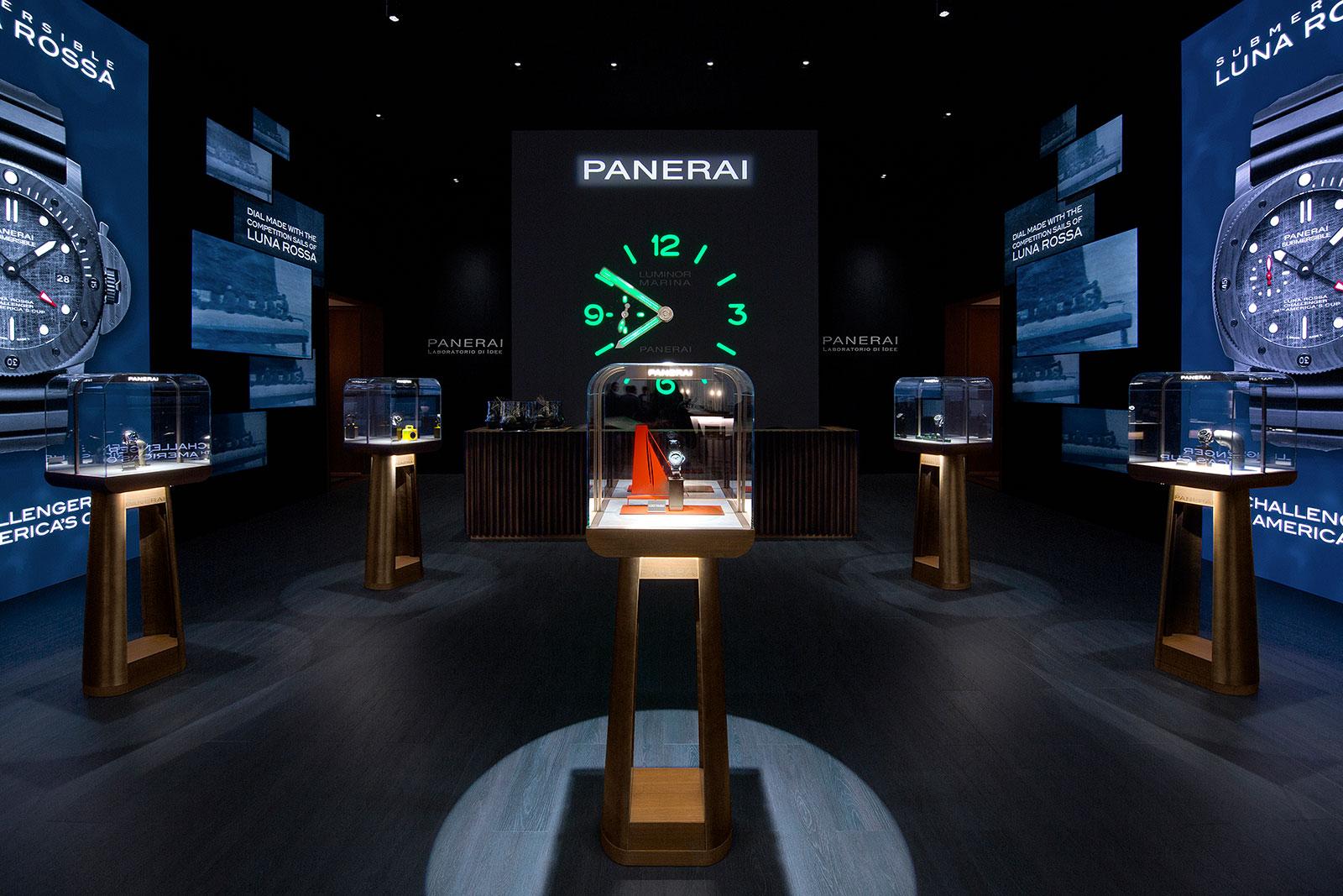Panerai SIHH 2019 booth 1