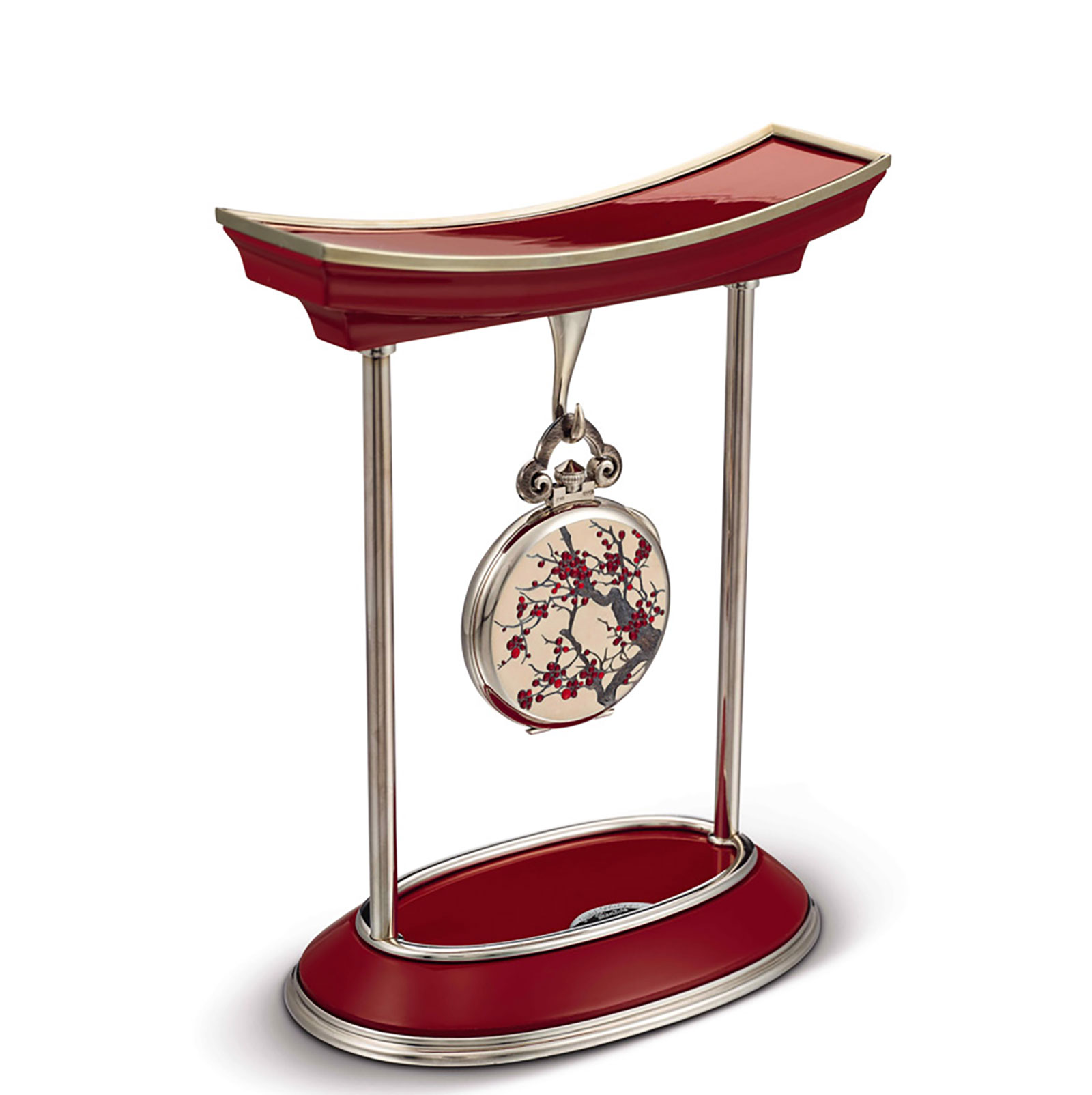 Patek Philippe Japanese Cherry pocket watch stand