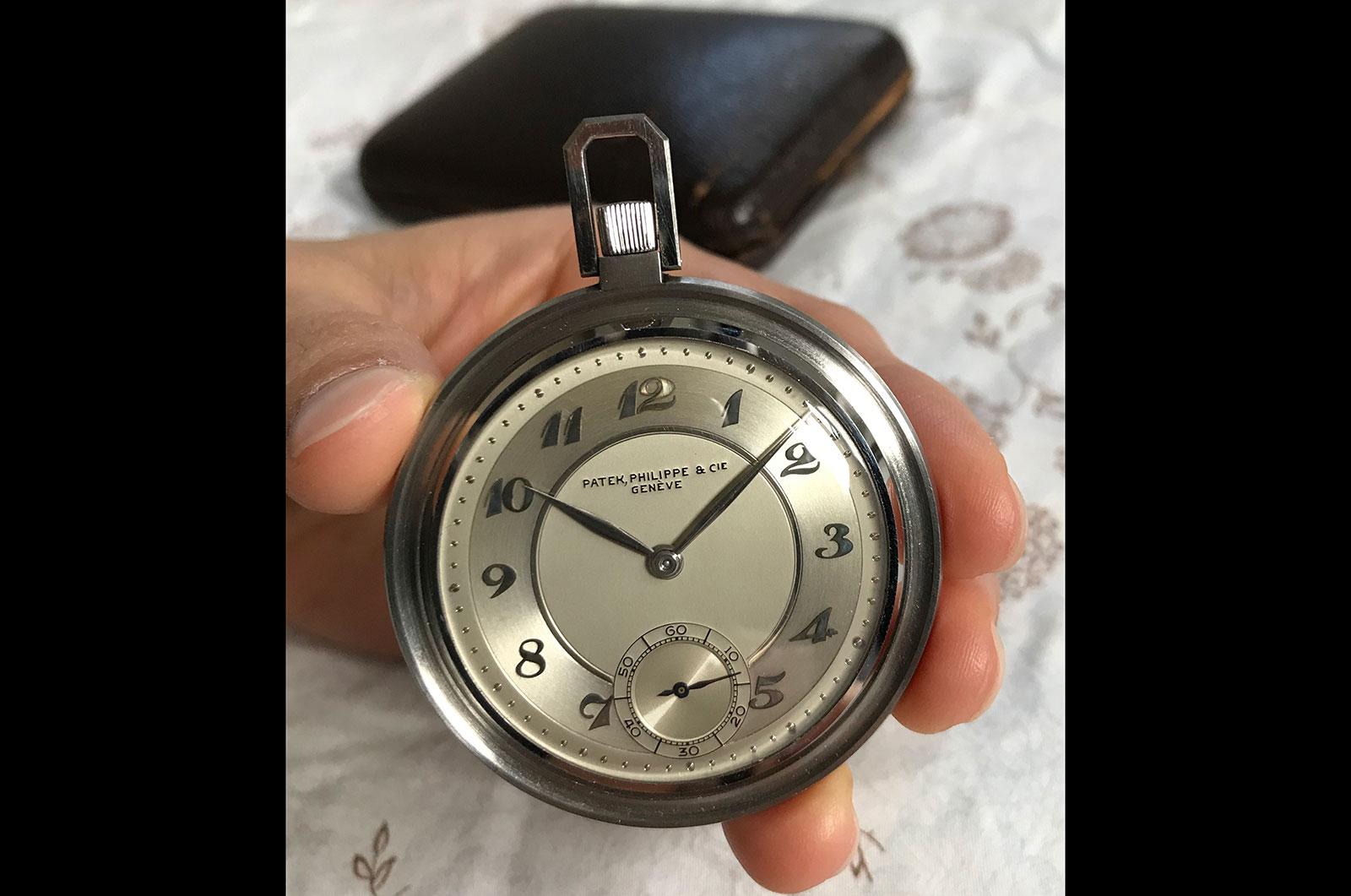 Patek philippe pocket watch 686 steel breguet numbers