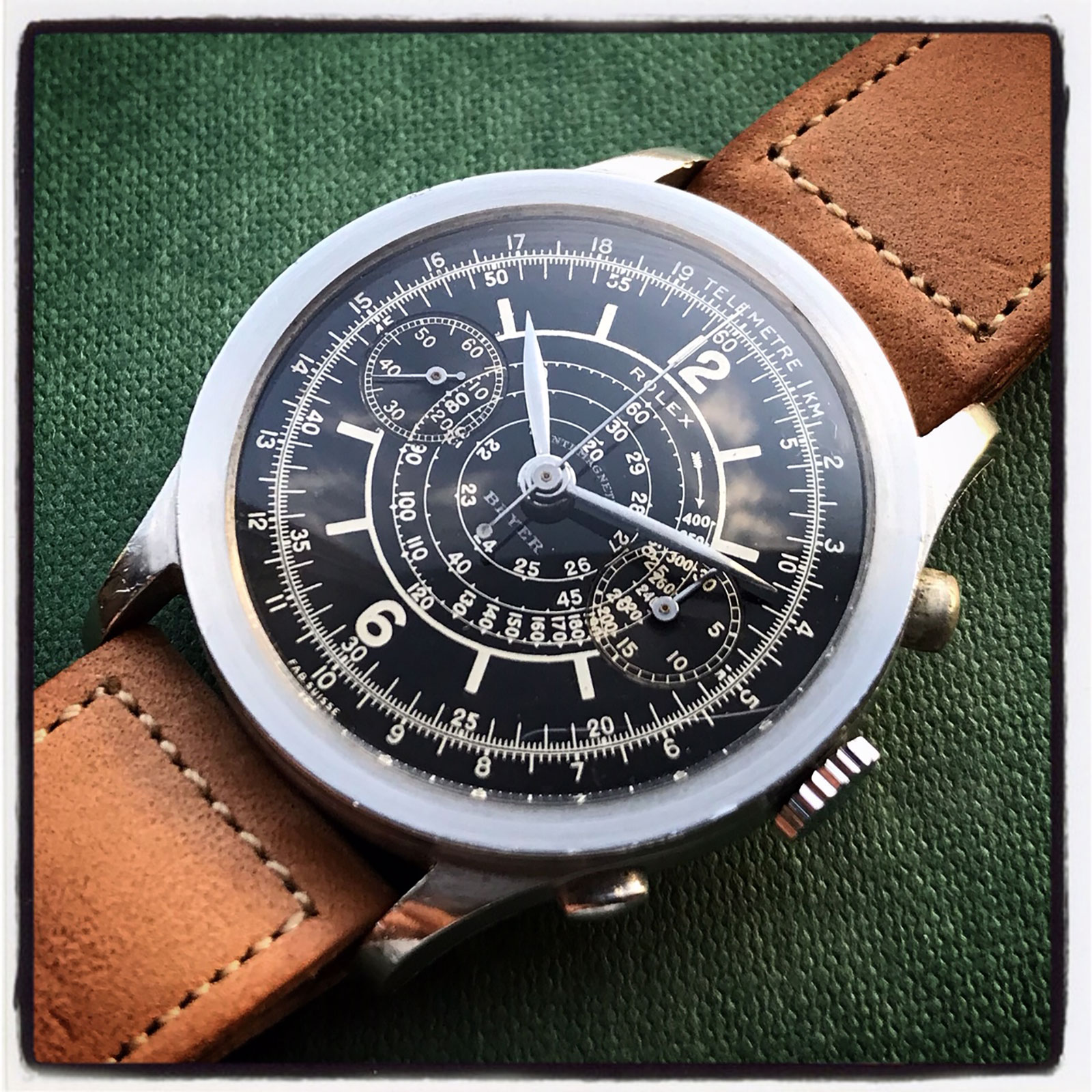 Rolex chronograph 2508 Beyer