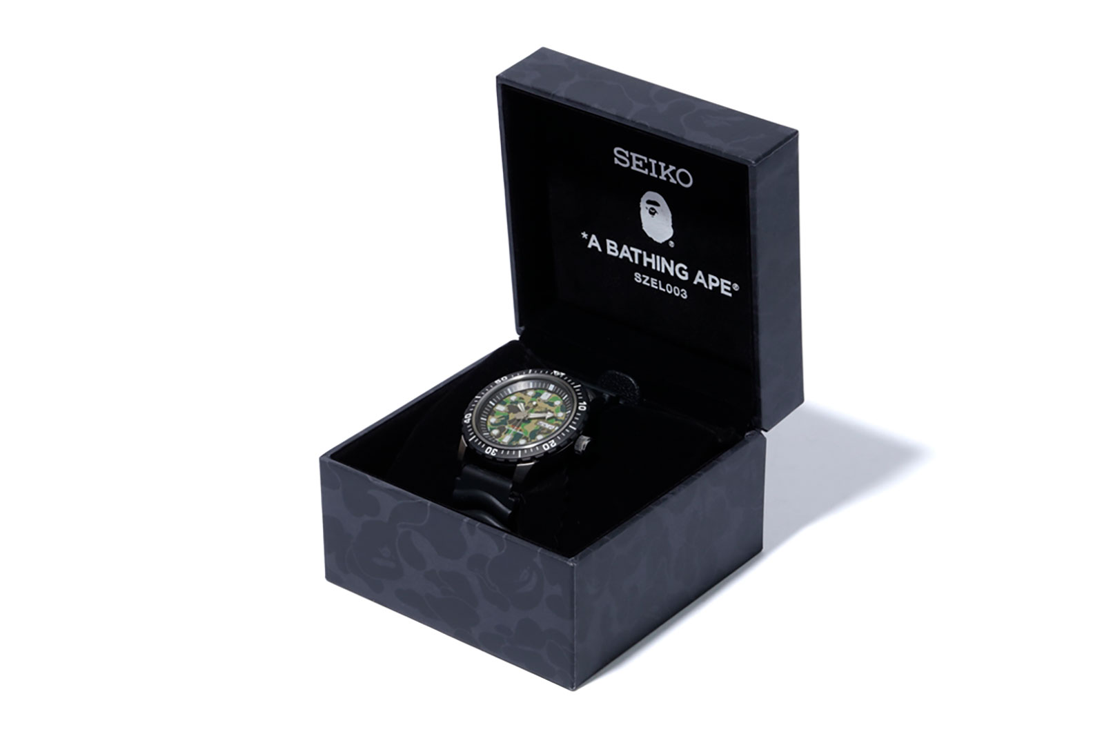 Seiko BAPE Divers Watch SZEL003 2