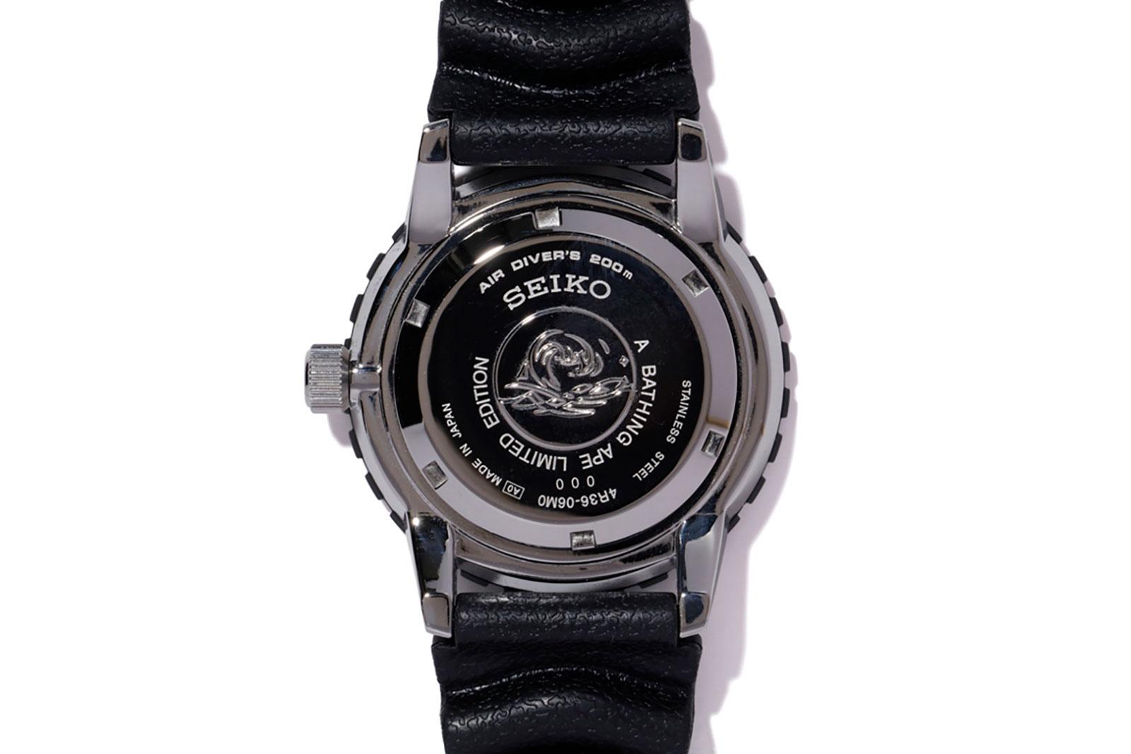 Seiko BAPE Divers Watch SZEL003 3