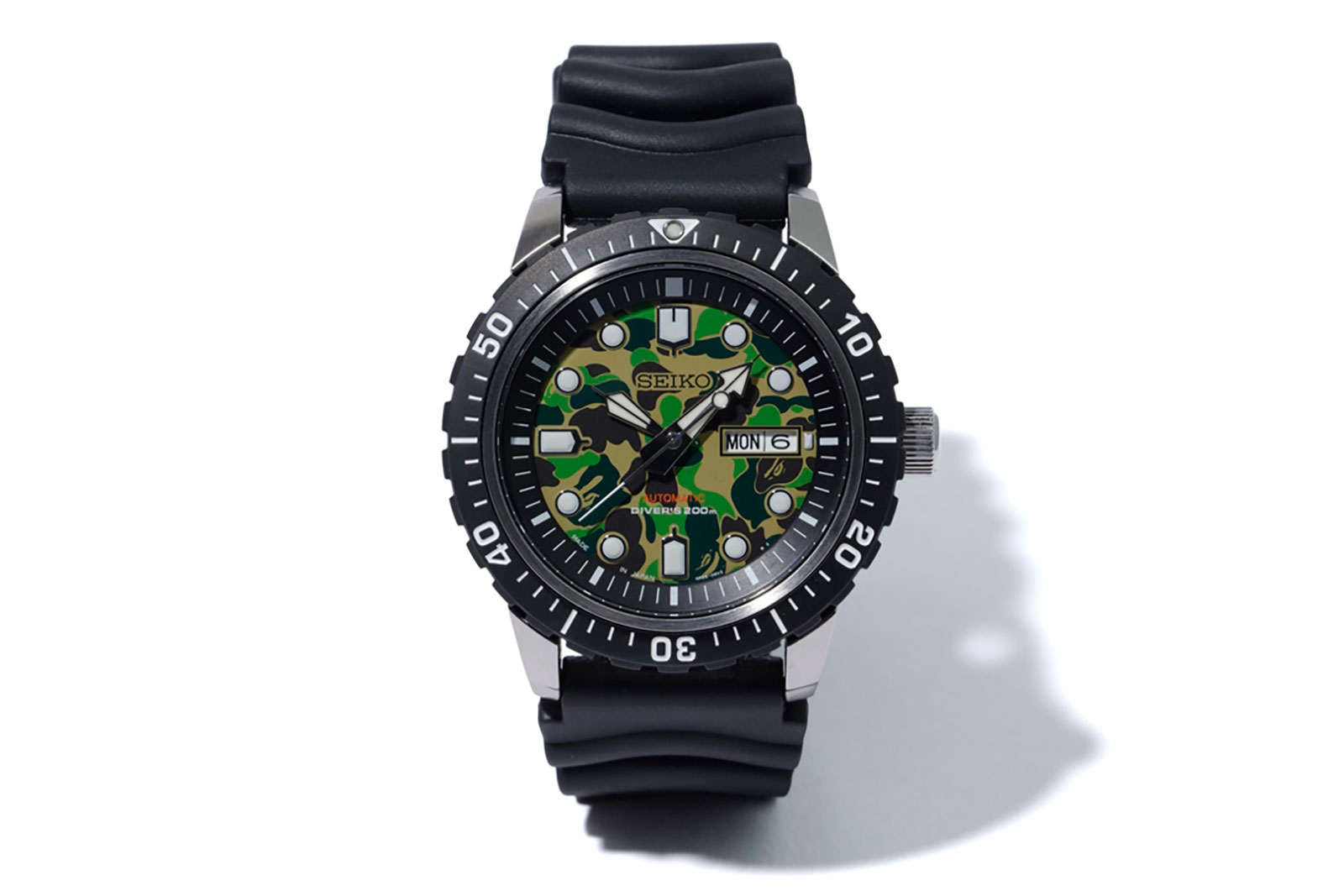 Seiko BAPE Divers Watch SZEL003 4