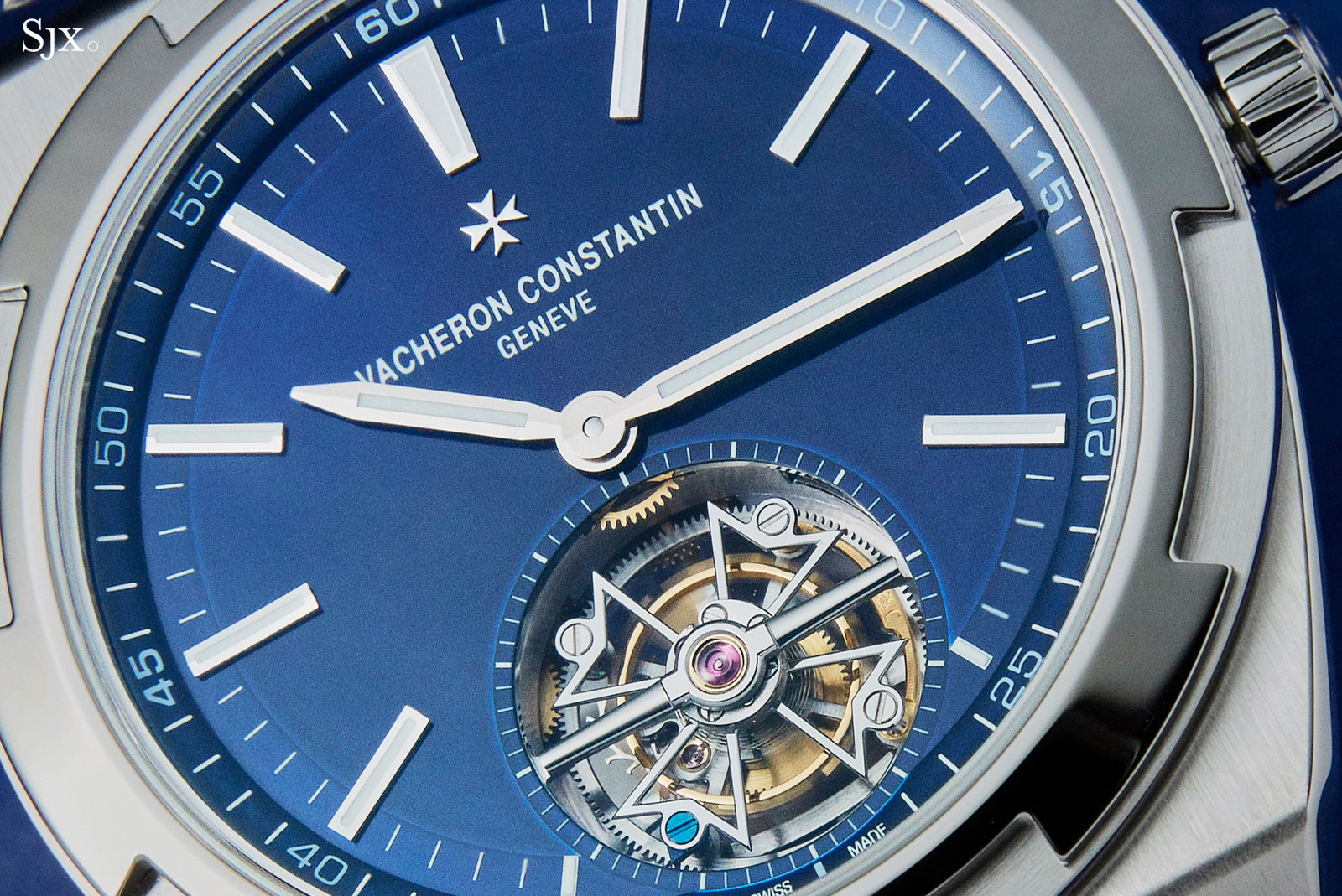 Vacheron Constantin Overseas Tourbillon steel 1