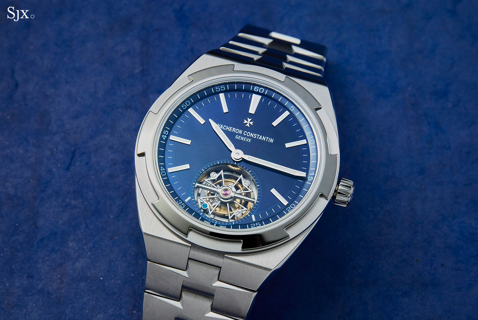 Vacheron Constantin Overseas Tourbillon steel 2