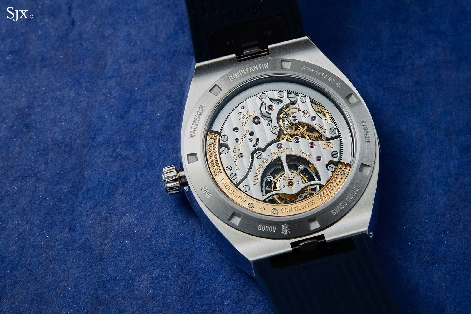 Vacheron Constantin Overseas Tourbillon steel 4
