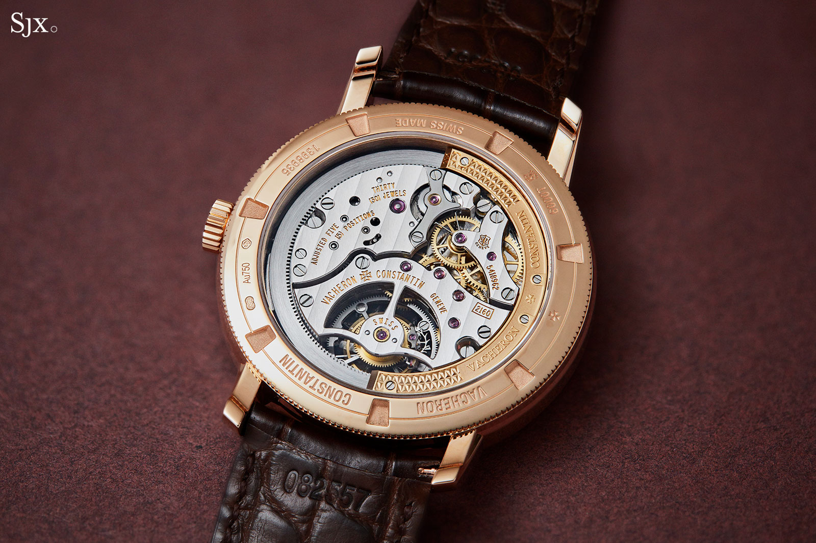 Vacheron Constantin Traditionnelle tourbillon automatic 8