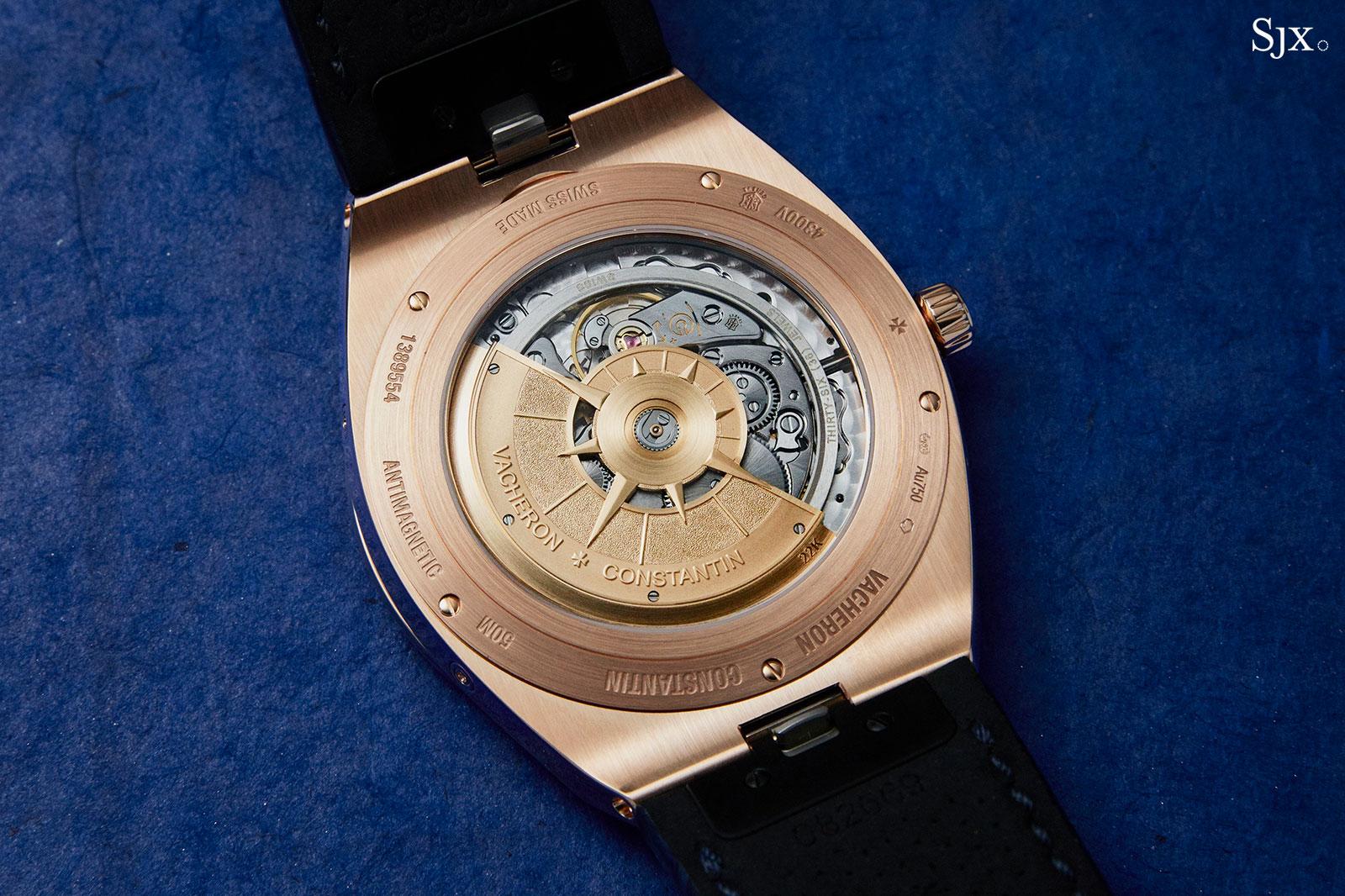 Vacheron Overseas Perpetual pink gold blue 3