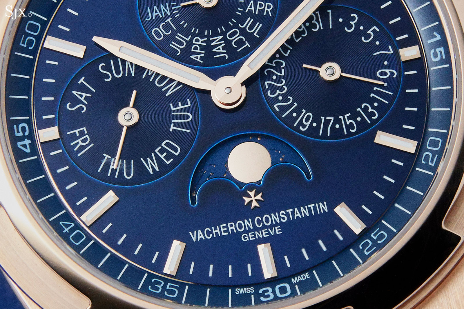 Vacheron Overseas Perpetual pink gold blue 5