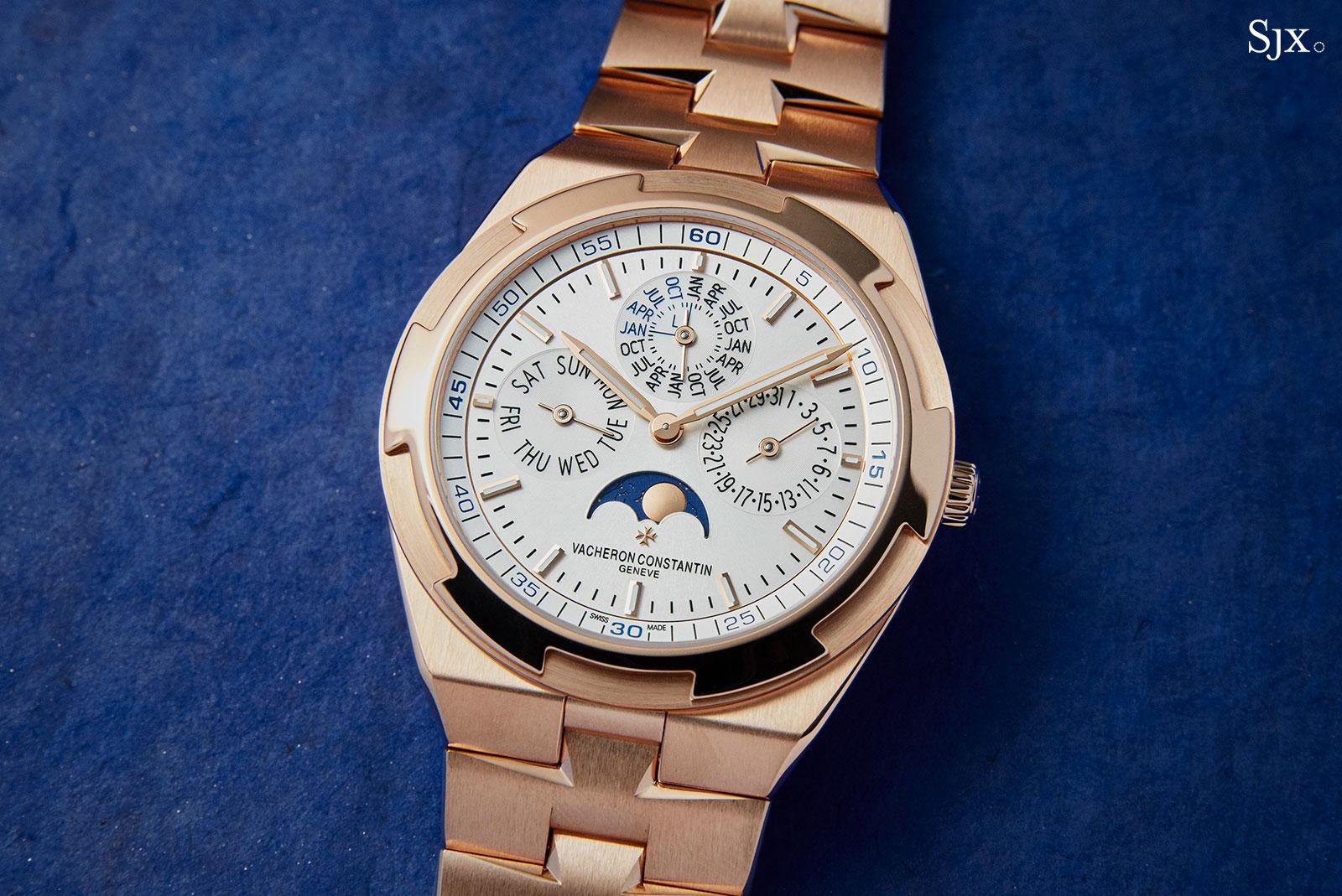 Vacheron Overseas Perpetual pink gold bracelet  1