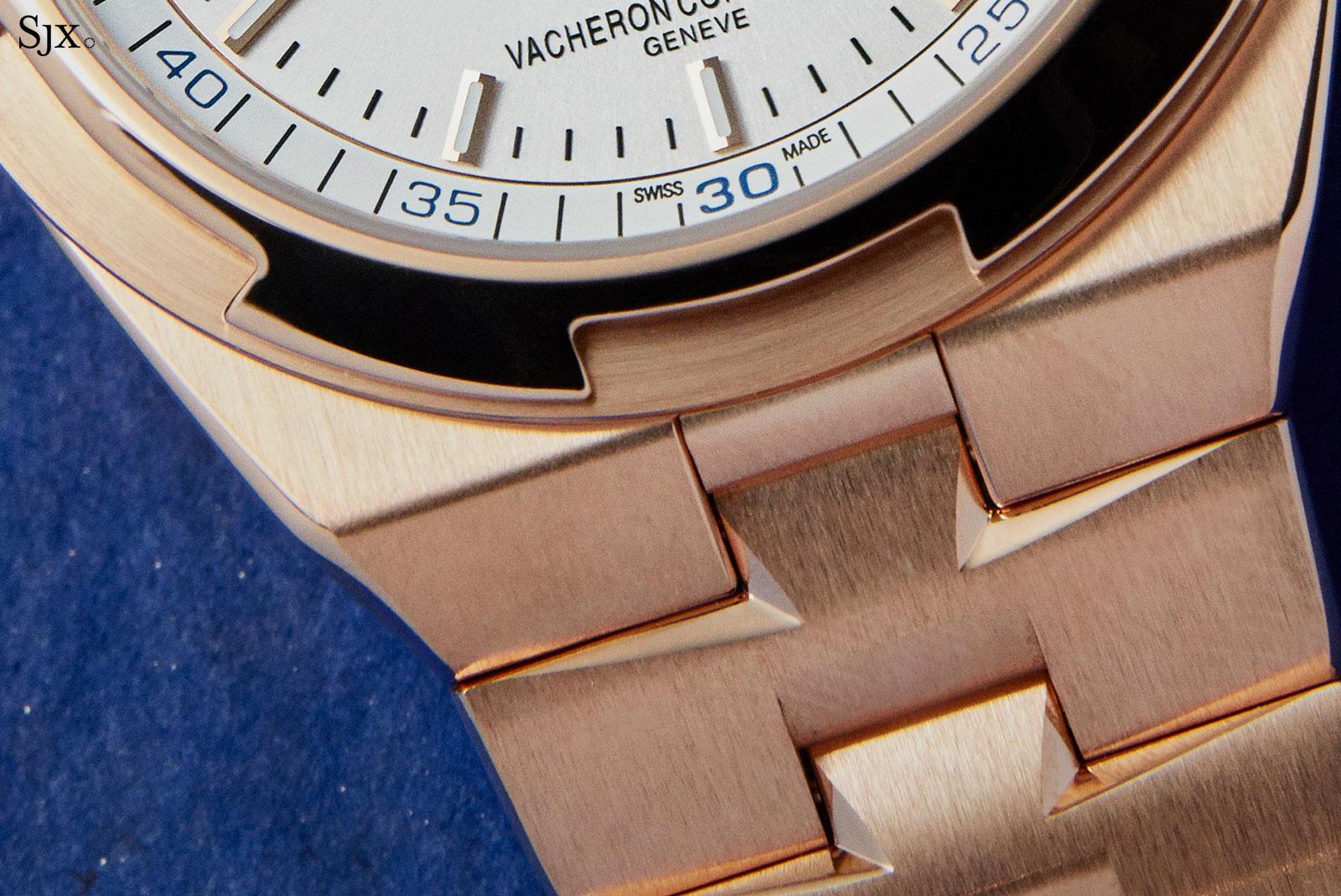 Vacheron Overseas Perpetual pink gold bracelet 4
